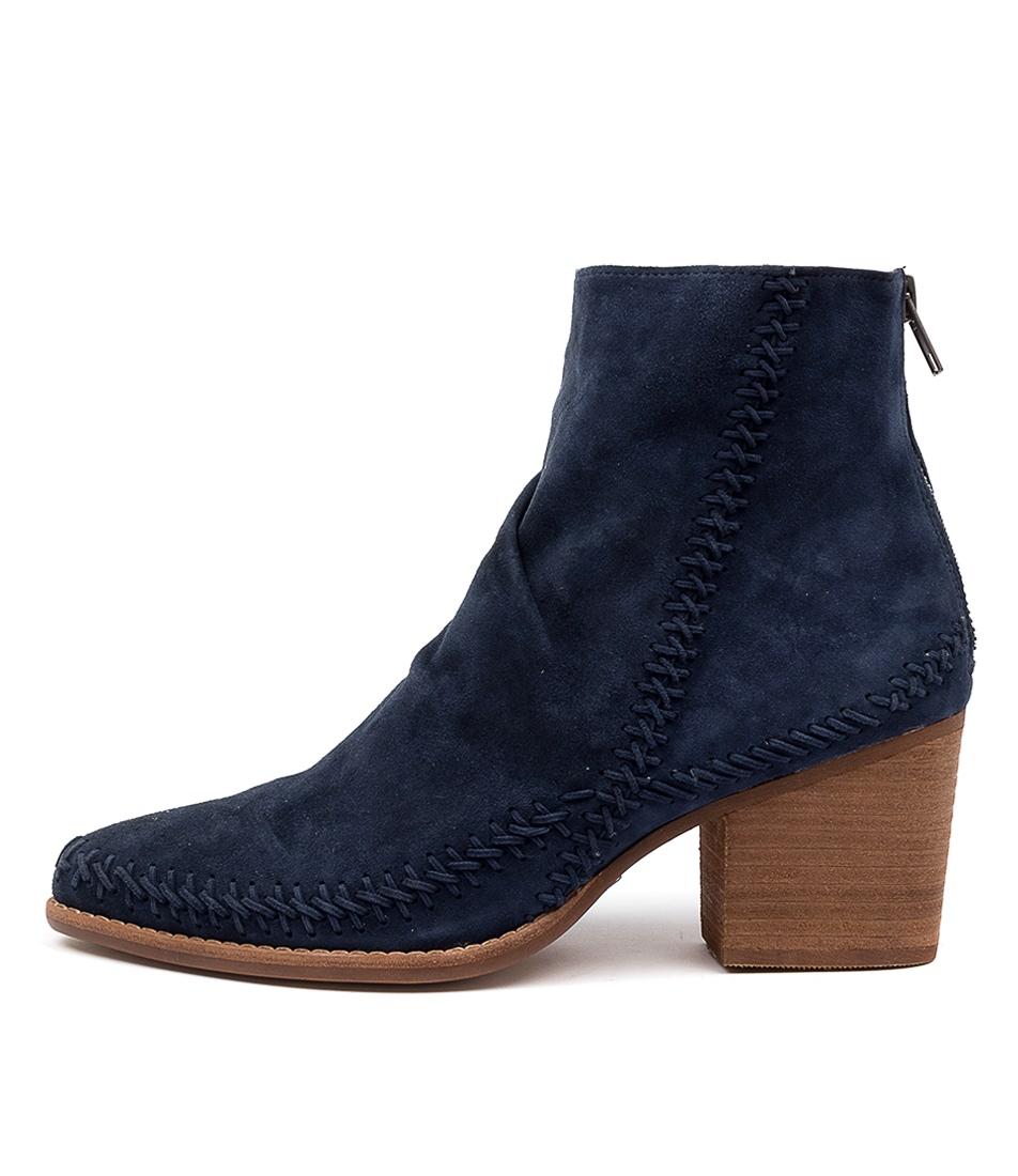 Buy Django & Juliette Kicking Dj Navy Ankle Boots online with free shipping