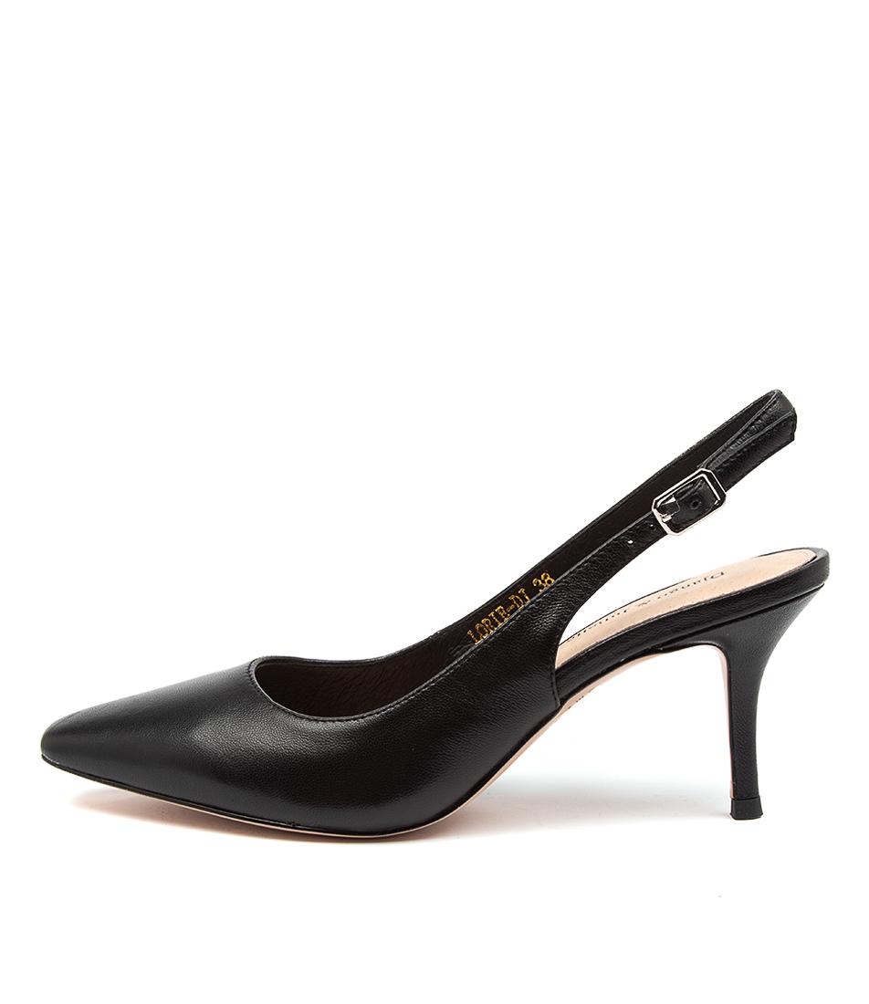 Buy Django & Juliette Lorie Dj Black High Heels online with free shipping