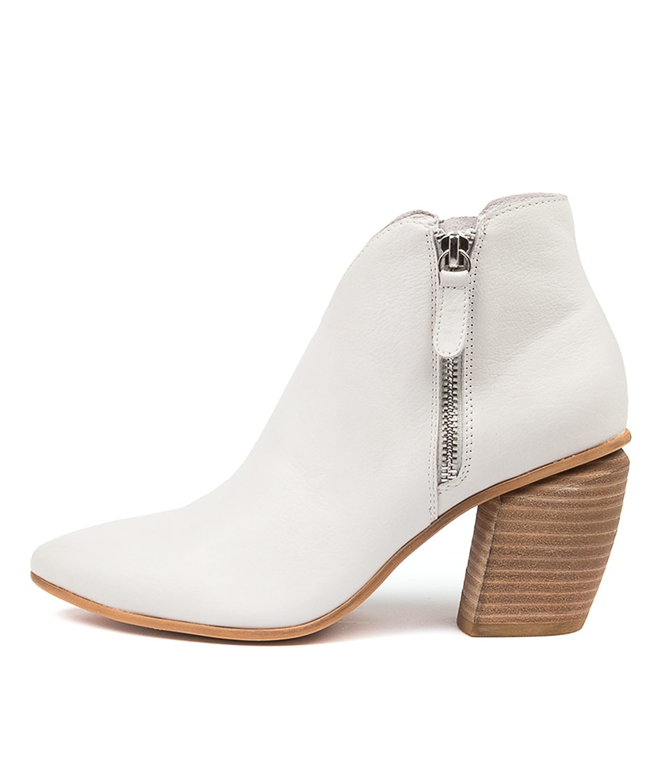 Buy Django & Juliette Longly Dj Winter White Ankle Boots online with free shipping