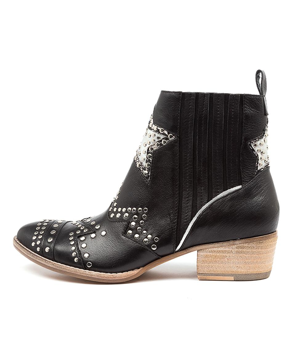 Buy Django & Juliette Lifeline Dj Black Ankle Boots online with free shipping