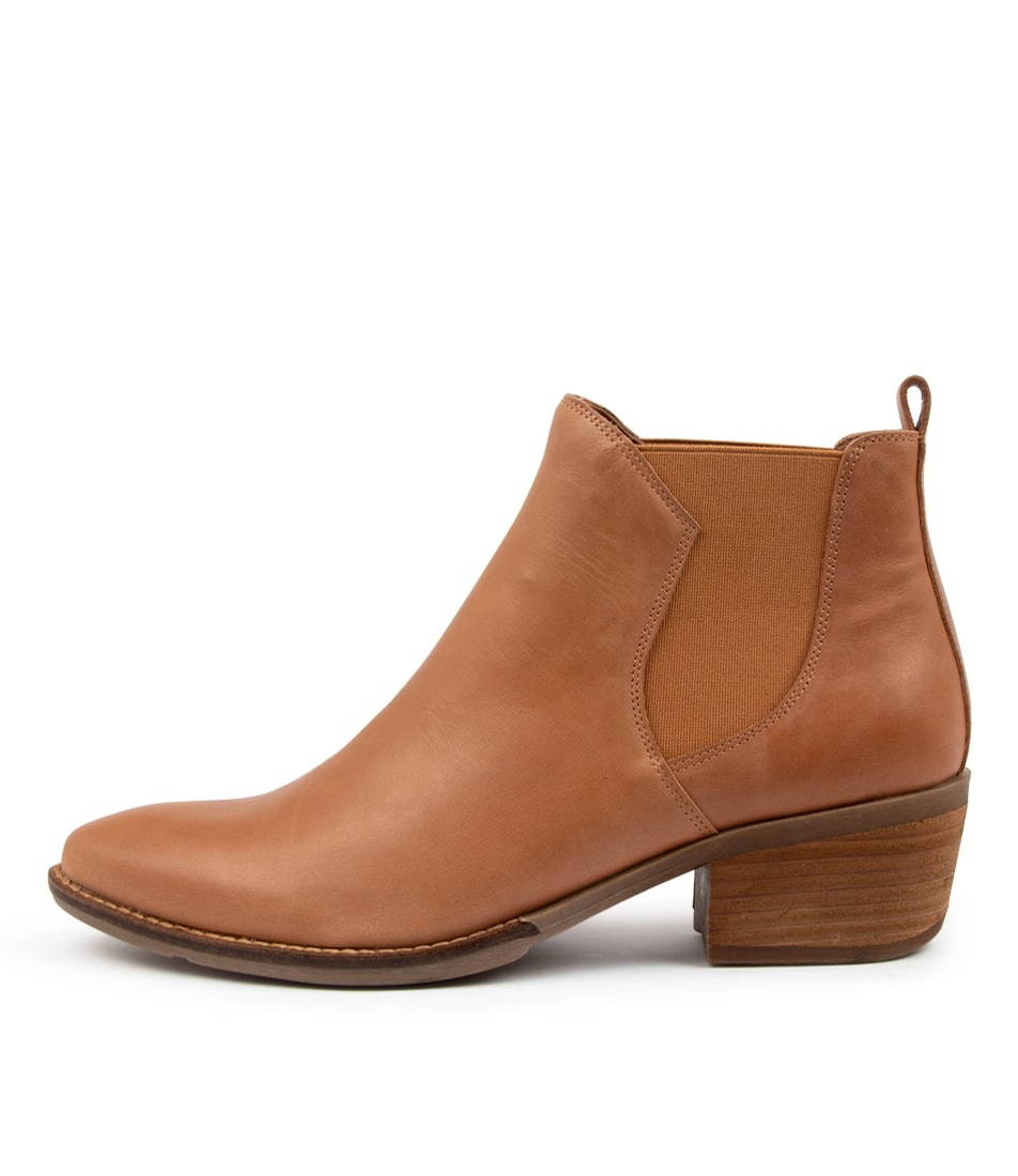 Buy Django & Juliette Linger Dj Tan Ankle Boots online with free shipping