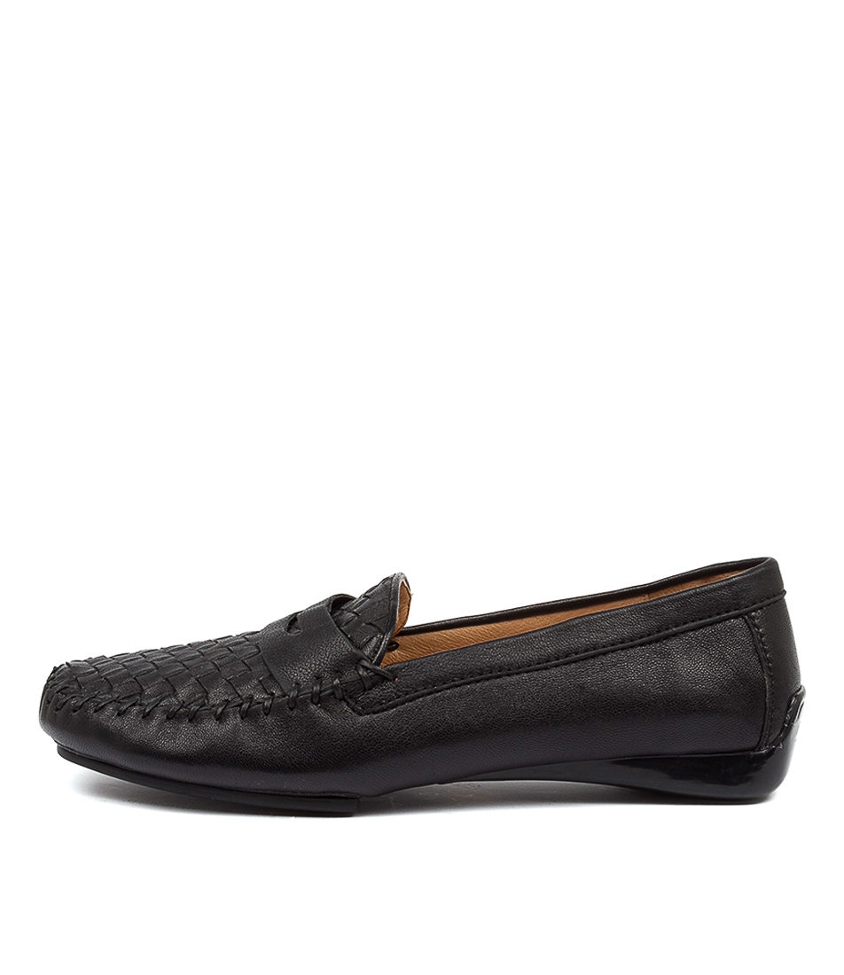 Buy Django & Juliette Larikan Dj Black Flats online with free shipping