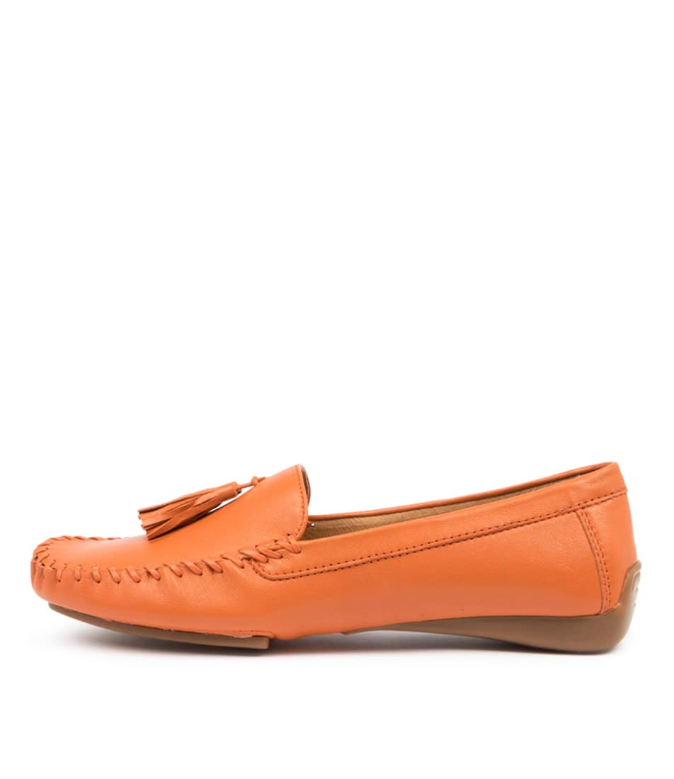 Buy Django & Juliette Larf Dj Orange Flats online with free shipping