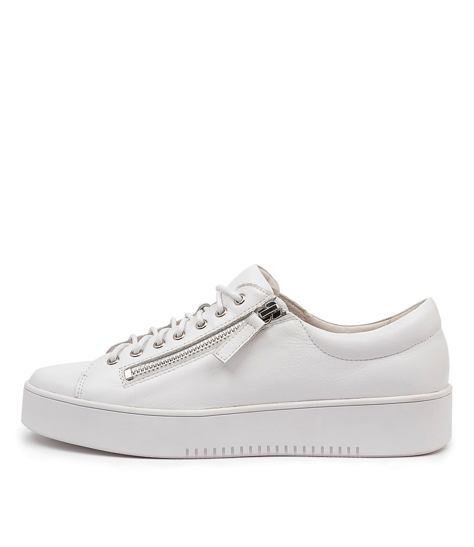 Buy Django & Juliette Laila Dj White White Sole Sneakers online with free shipping