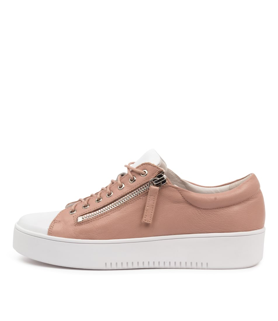 Buy Django & Juliette Laila Dj White Warm Rose Sneakers online with free shipping