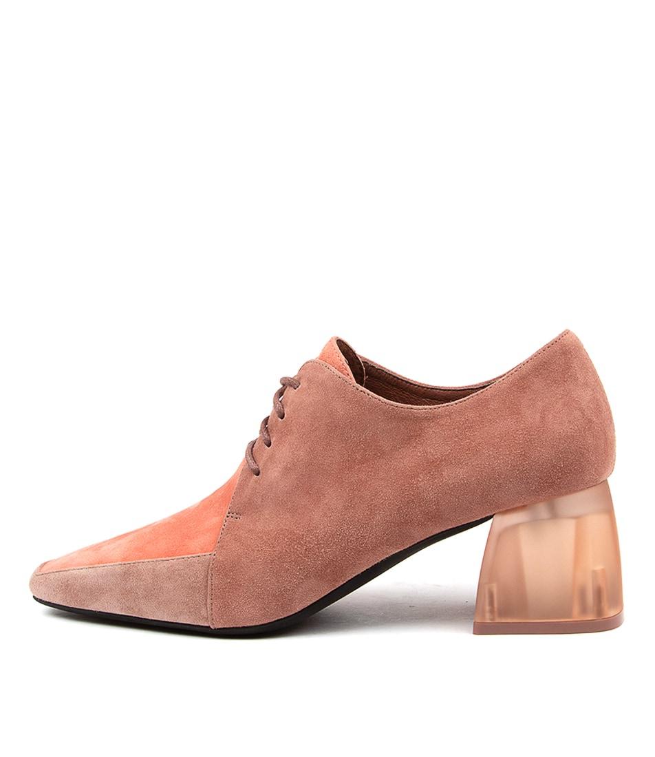 Buy Django & Juliette Marice Dj Salmon Rose High Heels online with free shipping