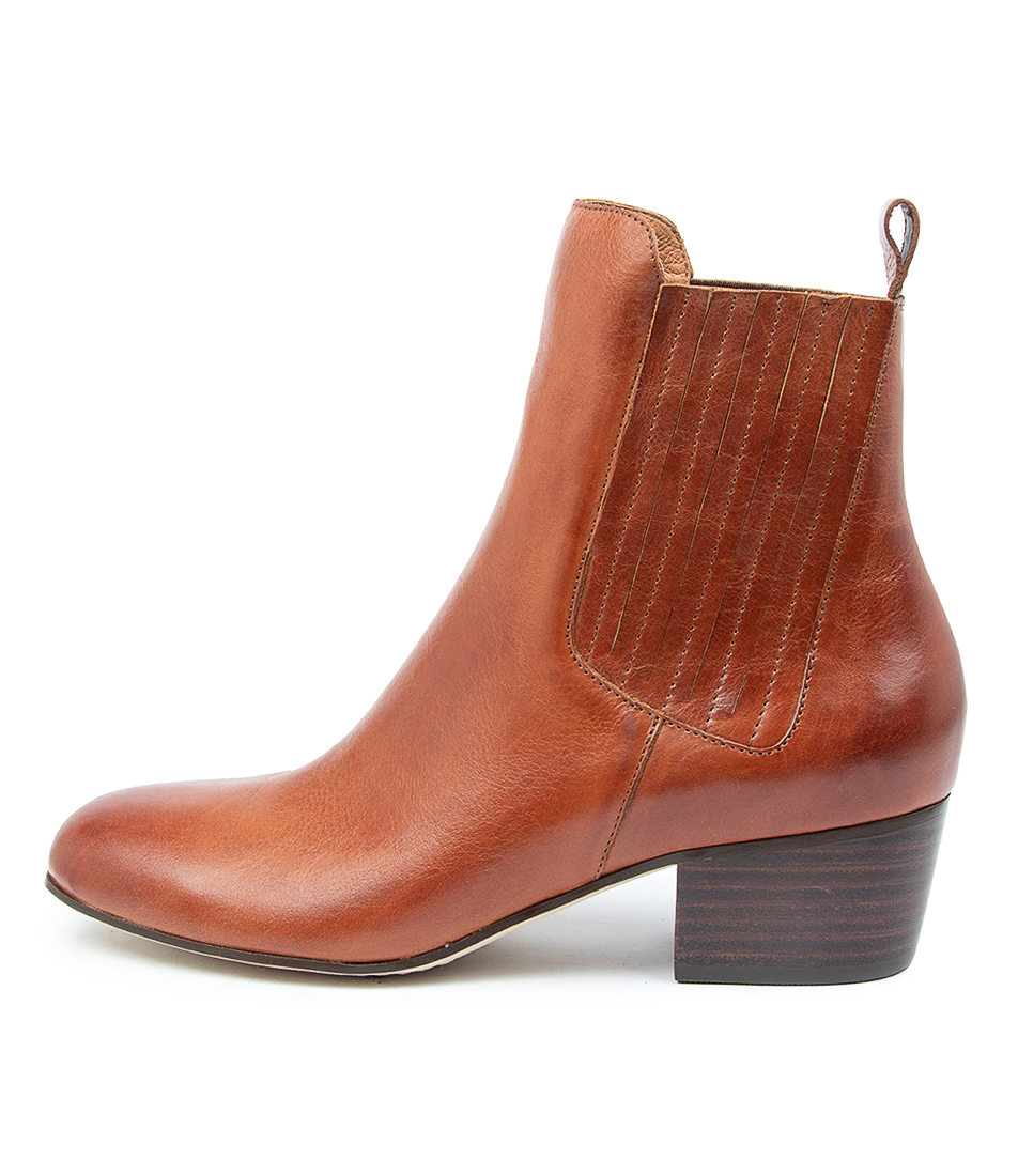 Buy Django & Juliette Miamunro Dj Cognac Ankle Boots online with free shipping