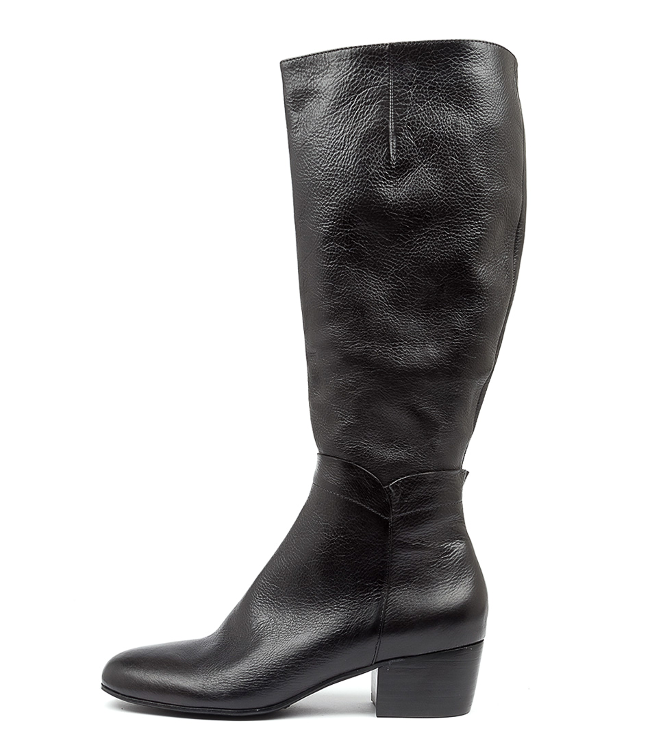 Buy Django & Juliette Milicent Dj Black Long Boots online with free shipping