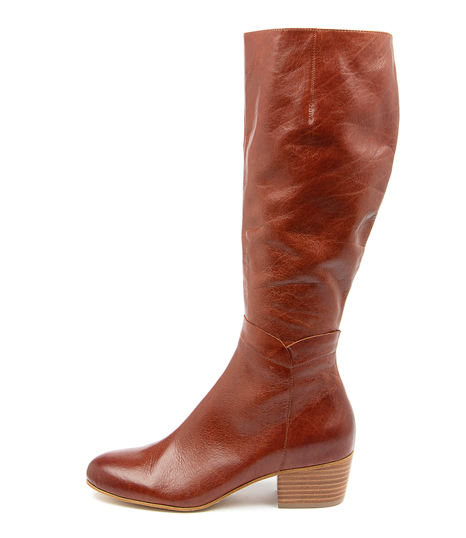 Buy Django & Juliette Milicent Dj Chestnut Long Boots online with free shipping