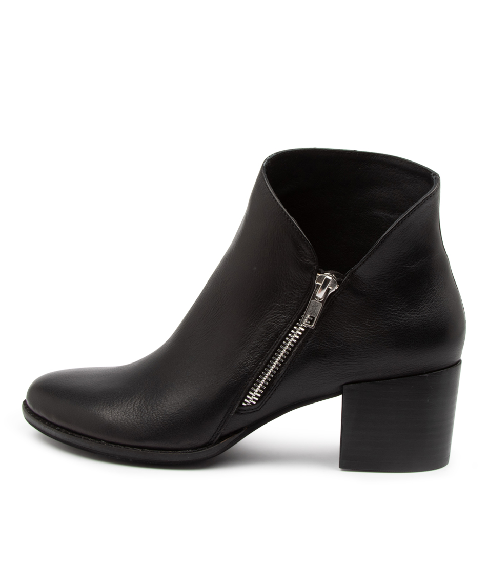 Buy Django & Juliette Marvin Dj Black Heel Ankle Boots online with free shipping