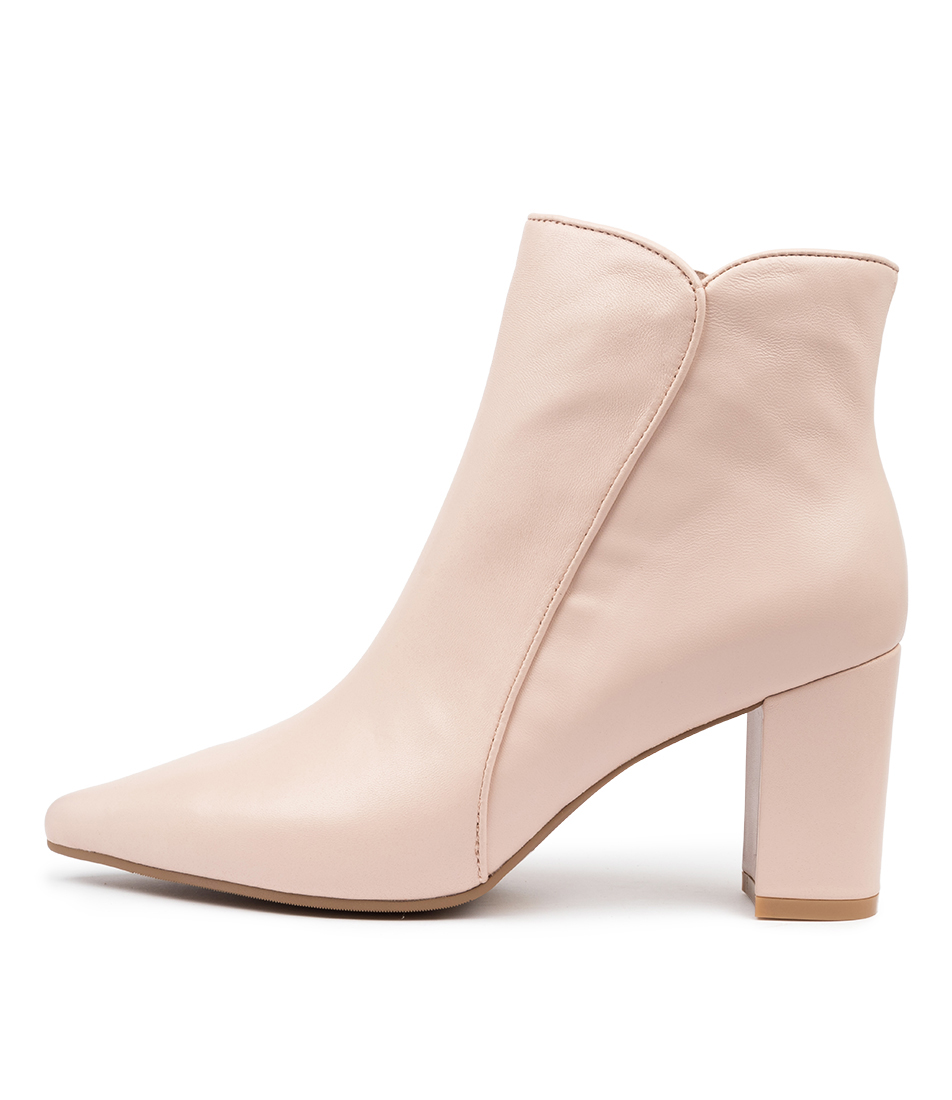 Buy Django & Juliette Nowly Dj Nude Ankle Boots online with free shipping