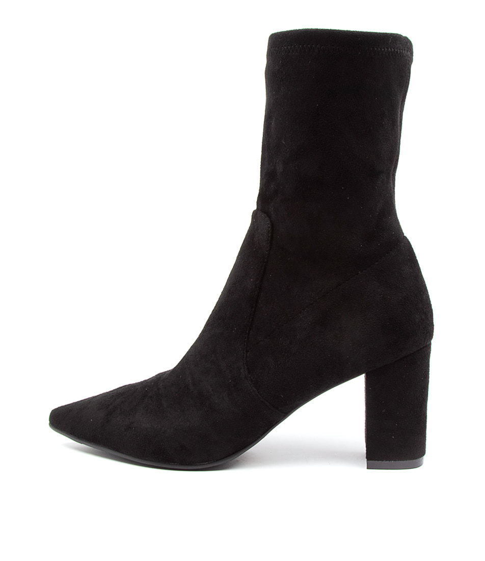 Buy Django & Juliette Nider Dj Black Dress Ankle Boots online with free shipping