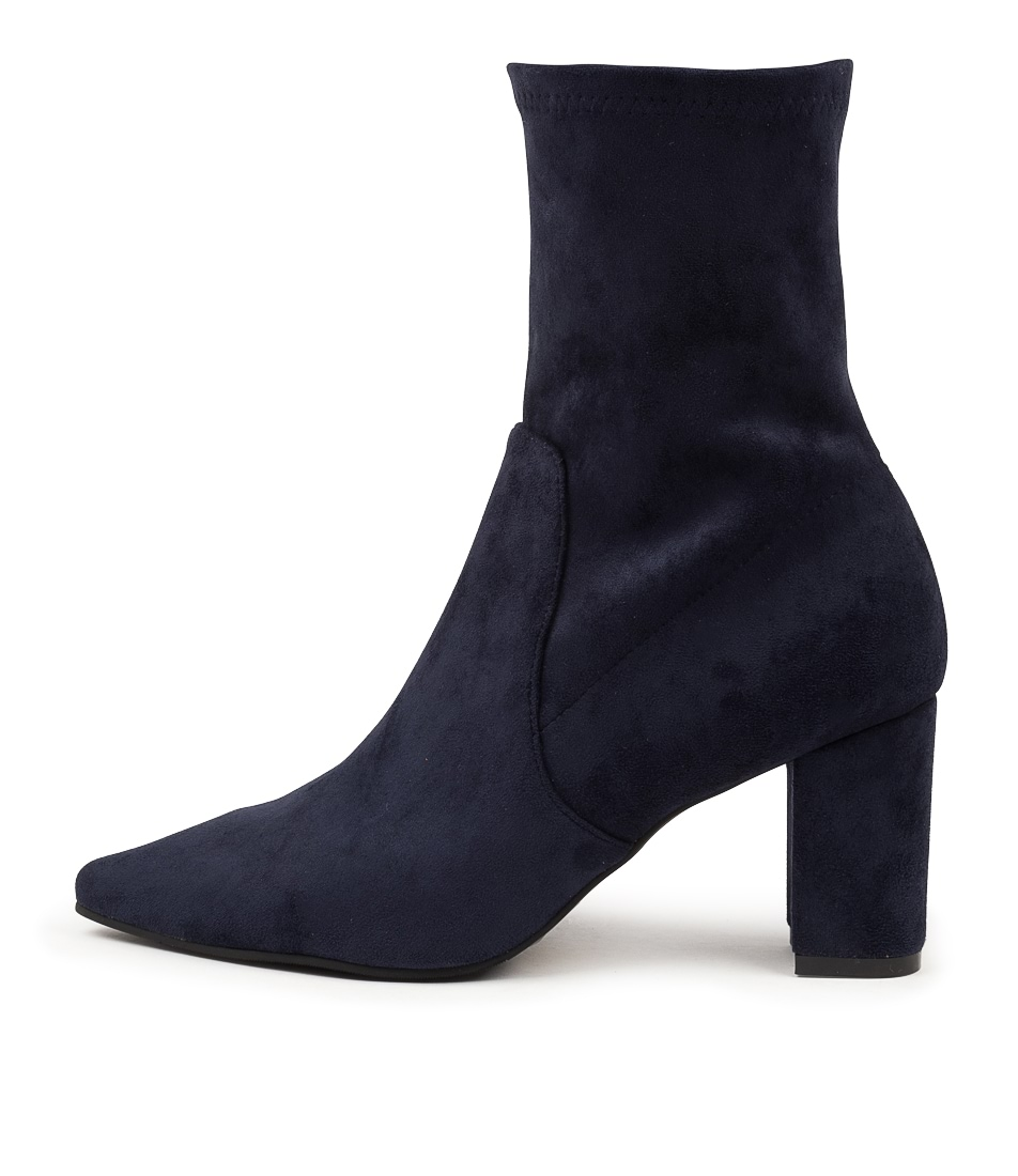Buy Django & Juliette Nider Dj Navy Ankle Boots online with free shipping