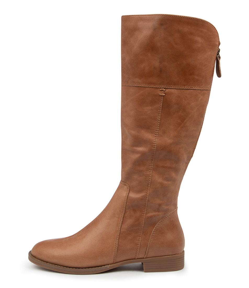 Buy Django & Juliette Prago Dj Tan Long Boots online with free shipping