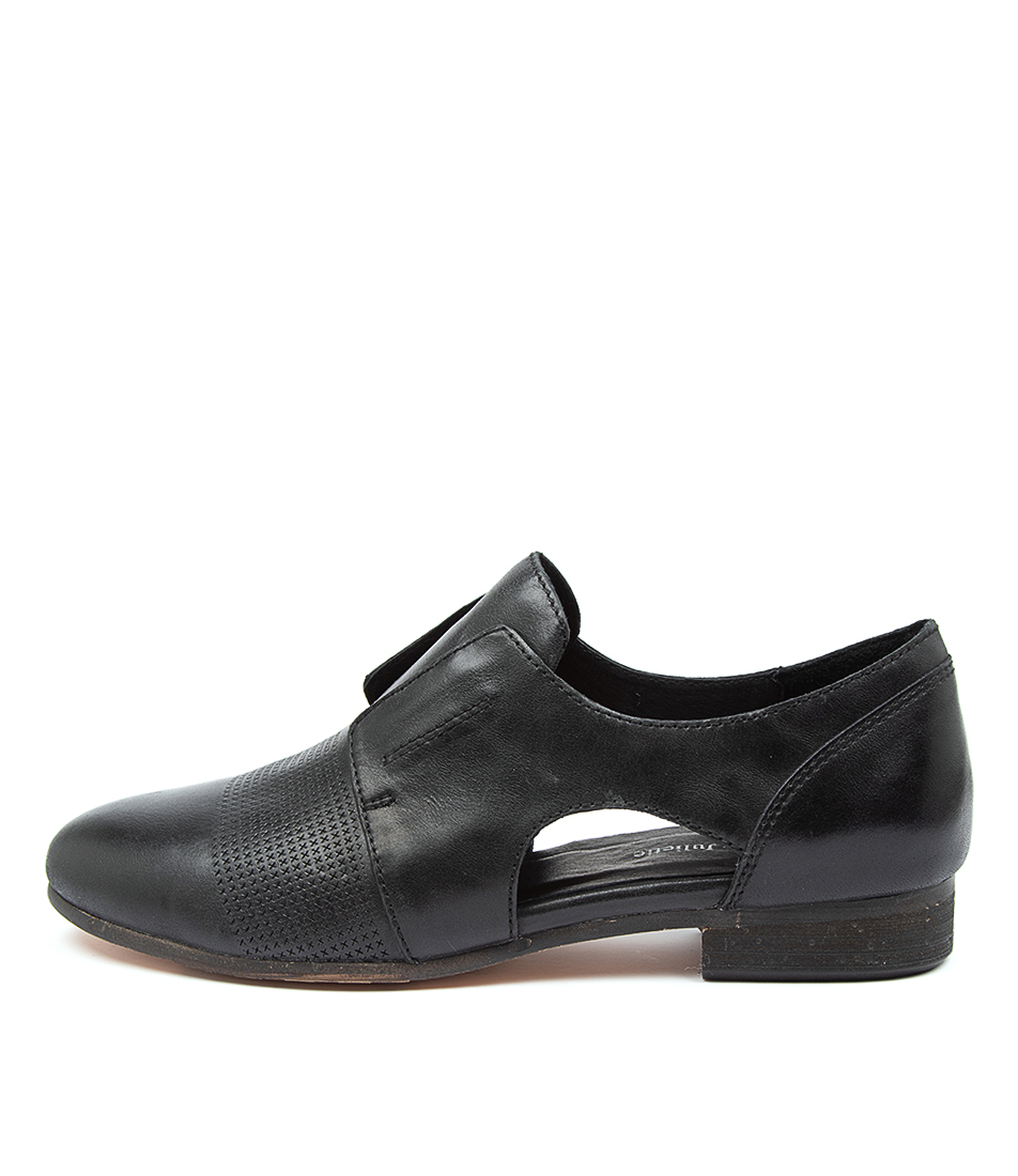 Buy Django & Juliette Rozzer Dj Black Heel Flats online with free shipping