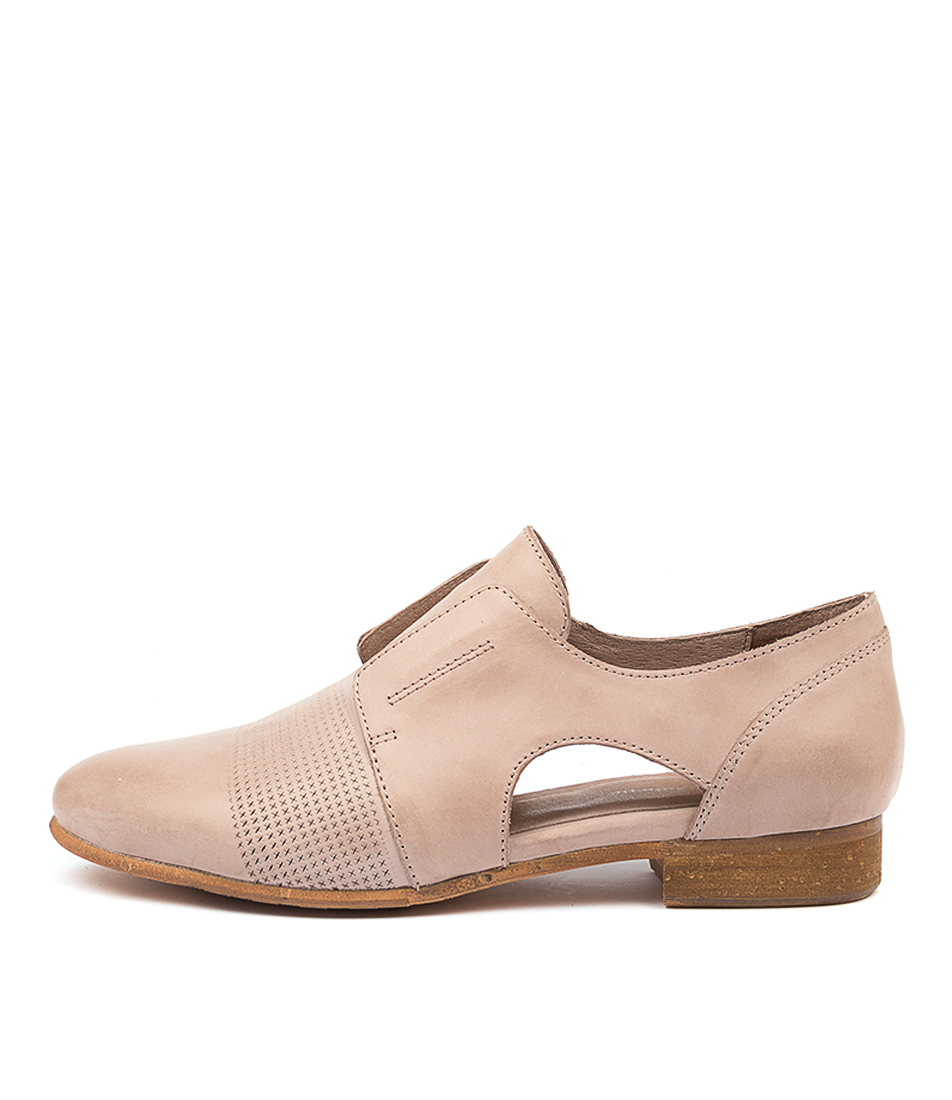 Buy Django & Juliette Rozzer Dj Warm Taupe Flats online with free shipping