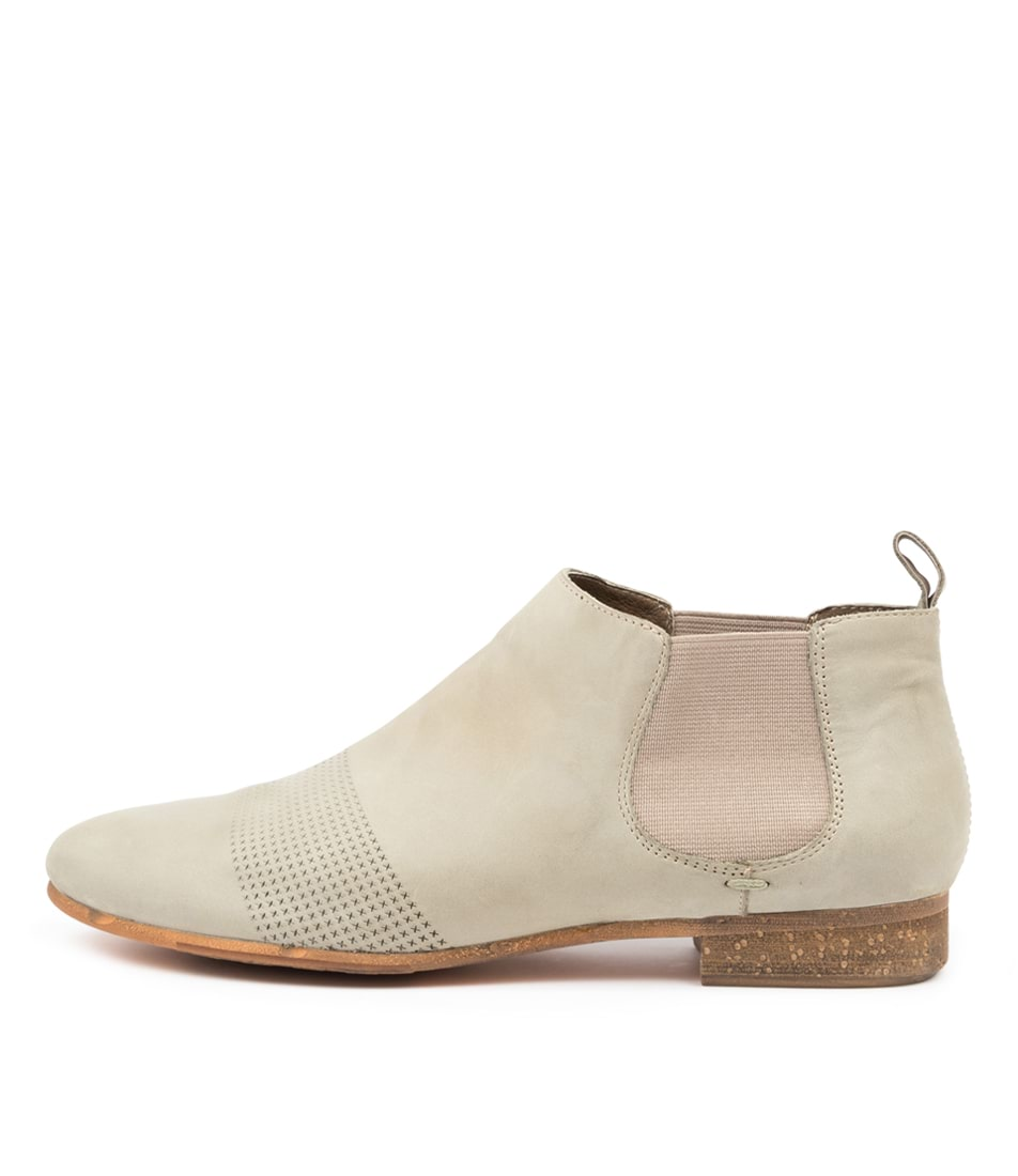 Buy Django & Juliette Roscoe Dj Khaki Ankle Boots online with free shipping