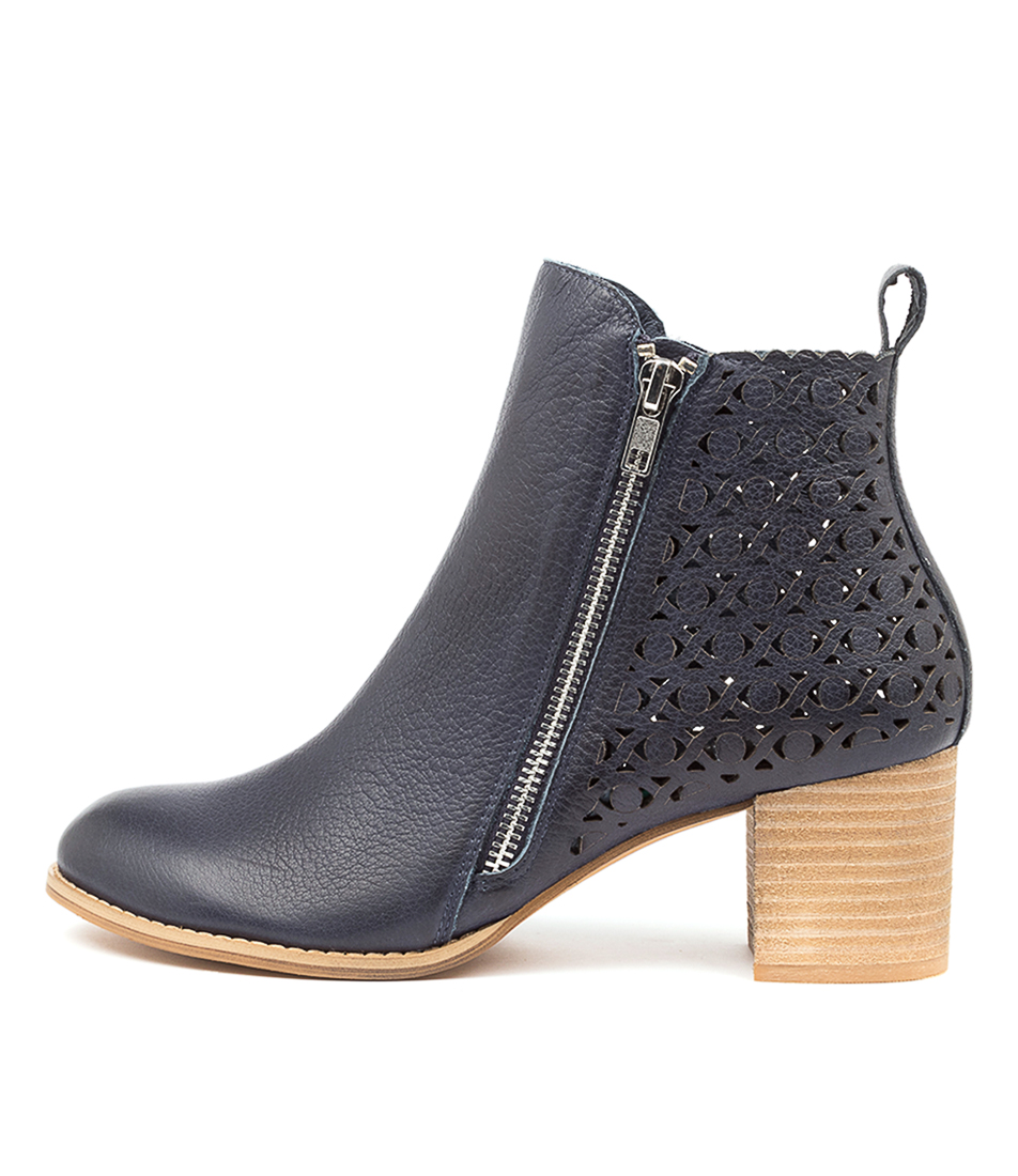 Buy Django & Juliette Sally Dj Navy Ankle Boots online with free shipping