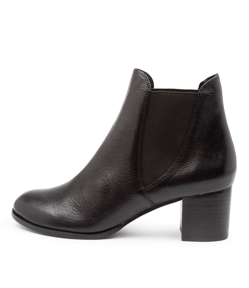 Buy Django & Juliette Siral Dj Black Heel Ankle Boots online with free shipping