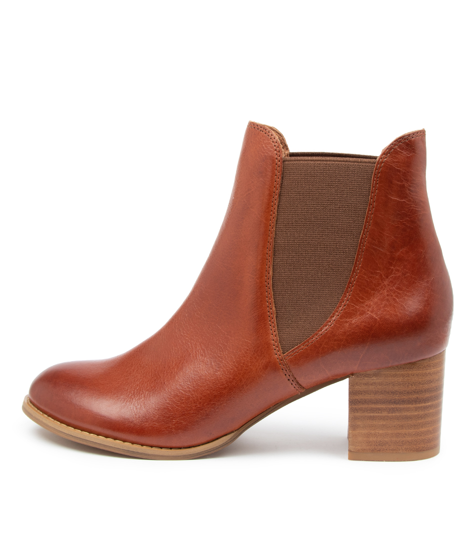Buy Django & Juliette Siral Dj Cognac Ankle Boots online with free shipping