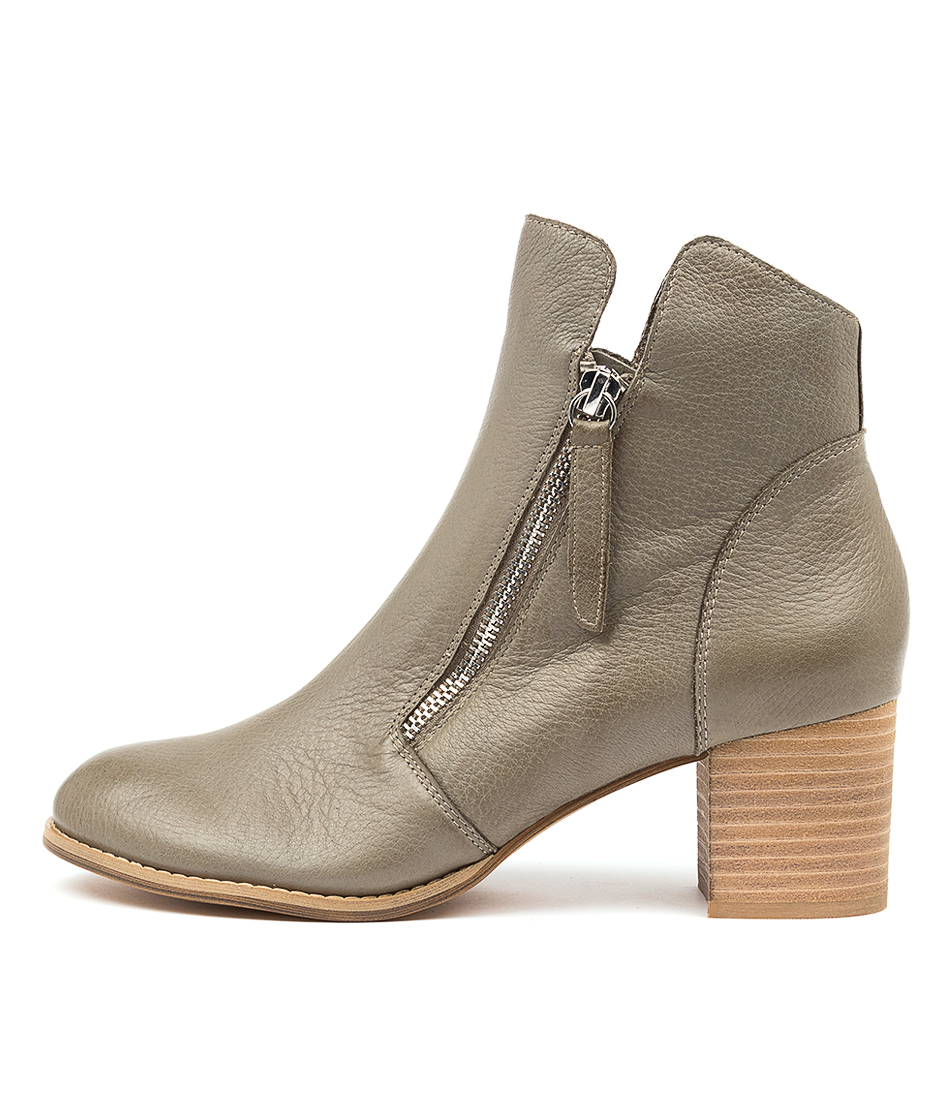 Buy Django & Juliette Sophie Dj Olive Ankle Boots online with free shipping