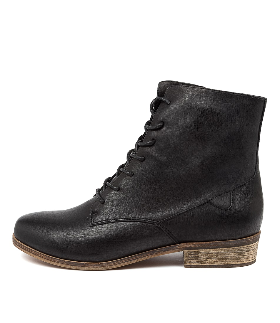 Buy Django & Juliette Sabra Dj Black Ankle Boots online with free shipping