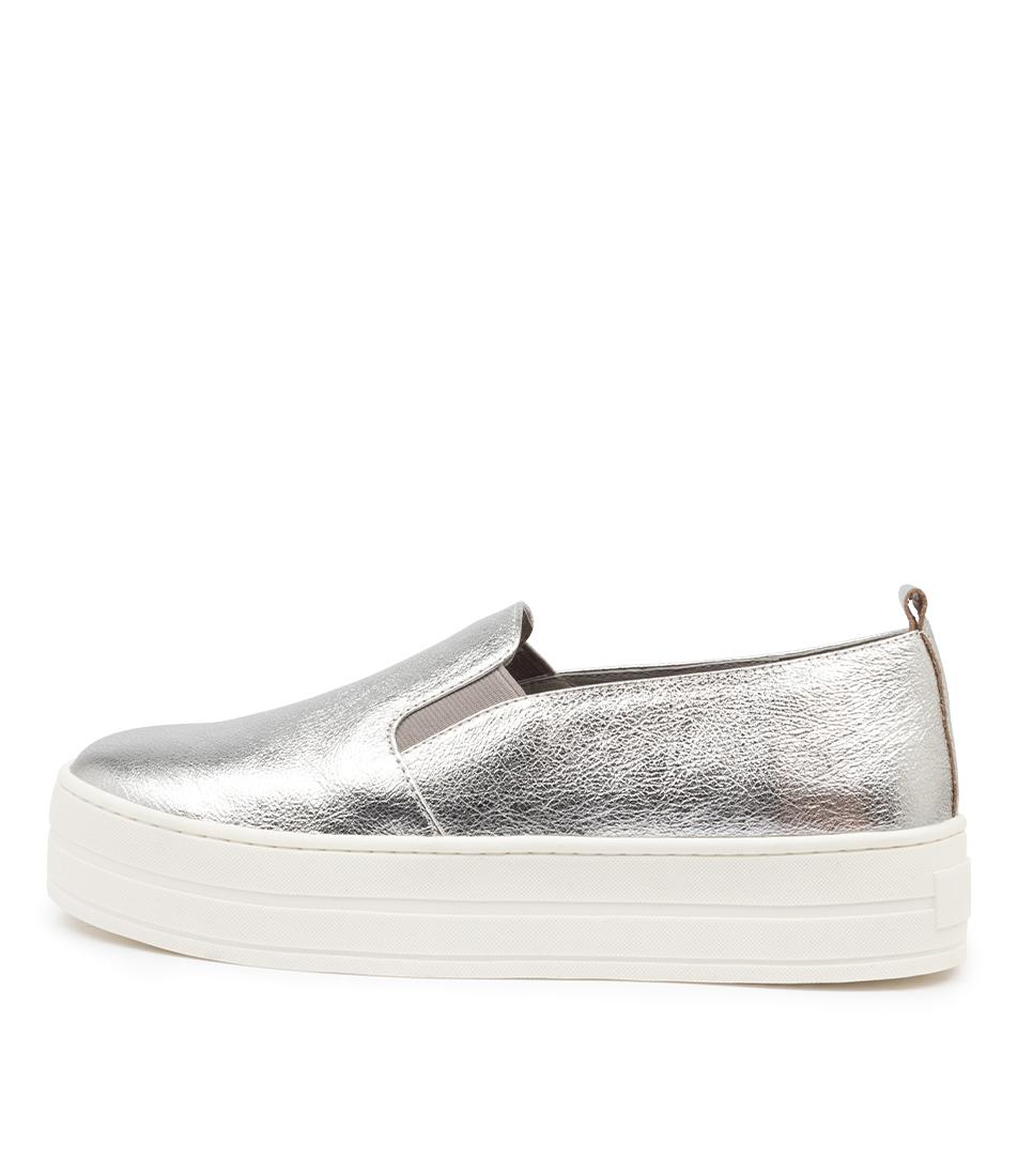 Buy Django & Juliette Sina Dj Silver Crush Flats online with free shipping
