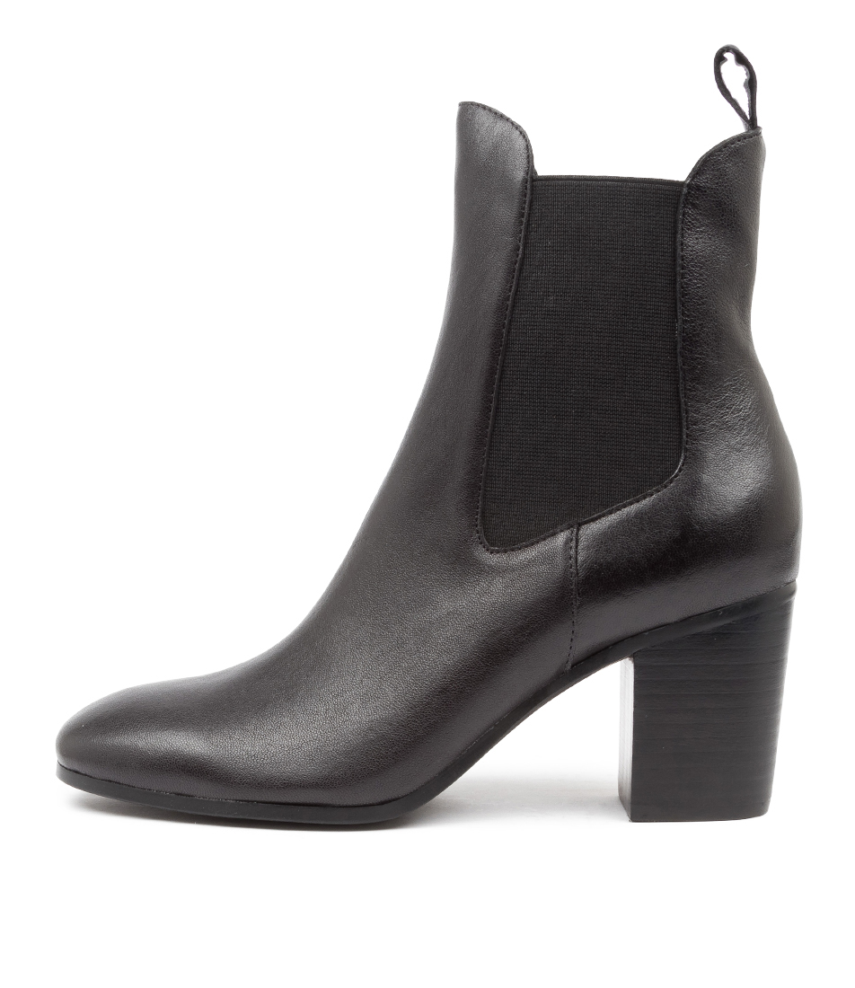 Buy Django & Juliette Tomback Dj Black Ankle Boots online with free shipping