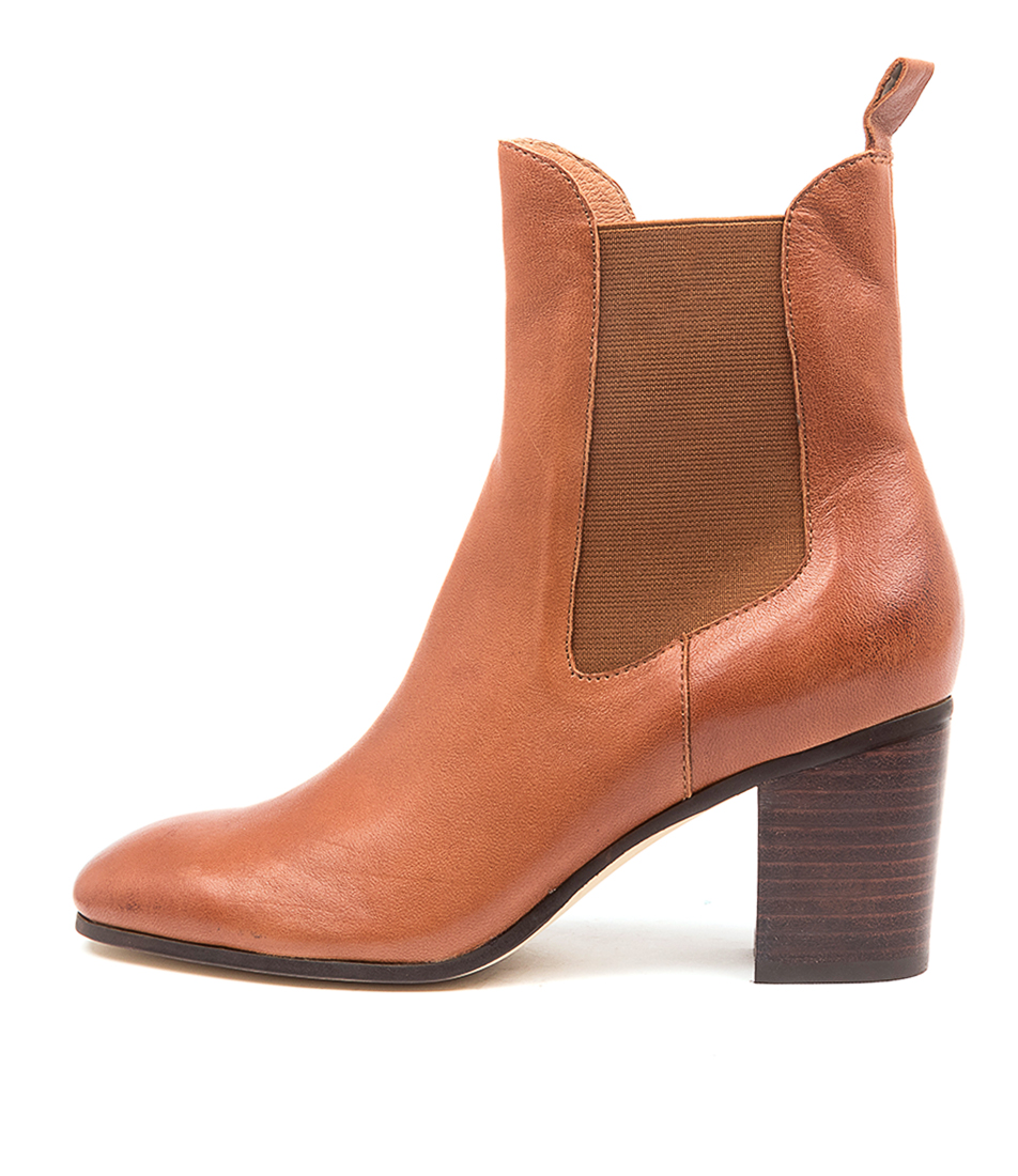 Buy Django & Juliette Tomback Dj Cognac Ankle Boots online with free shipping