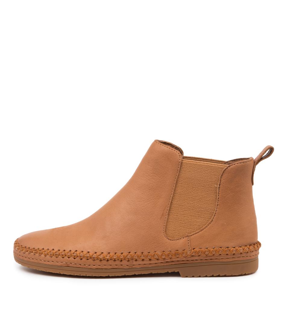 Buy Django & Juliette Voodoo Dj Dk Tan Ankle Boots online with free shipping