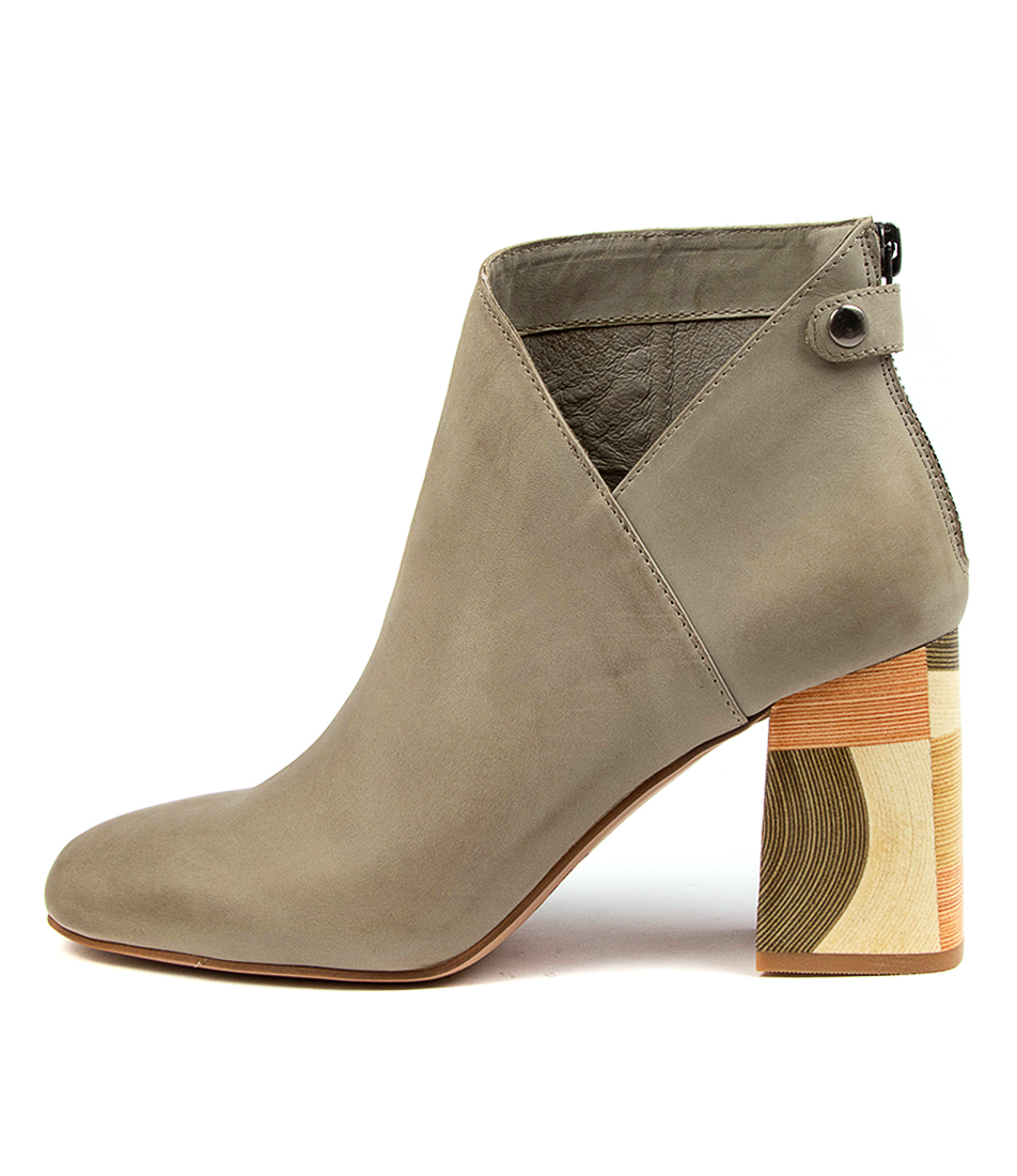 Buy Django & Juliette Yolly Dj Khaki Ankle Boots online with free shipping