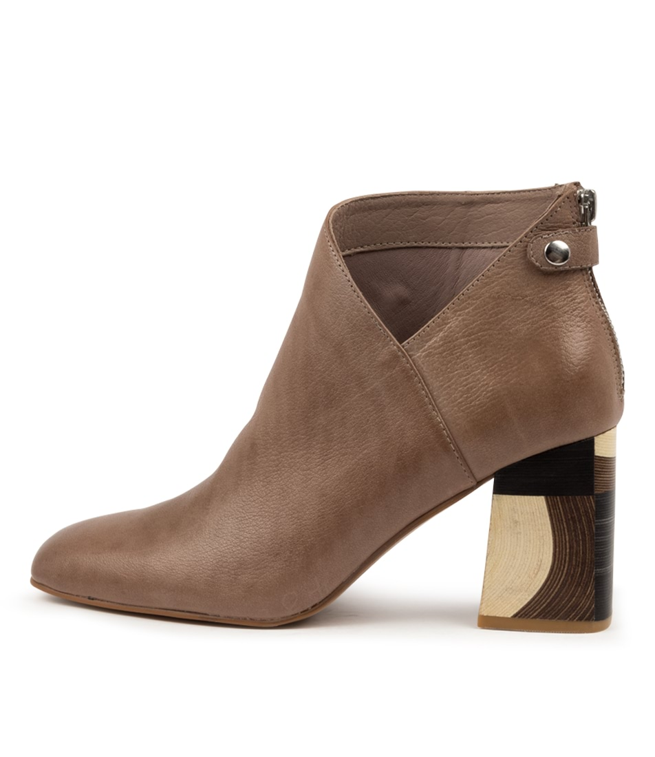 Buy Django & Juliette Yolly Dj Warm Taupe Ankle Boots online with free shipping