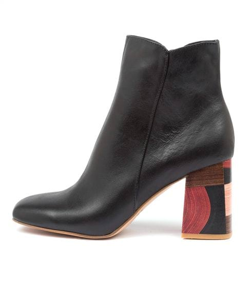 Buy Django & Juliette Yearn Dj Black Ankle Boots online with free shipping