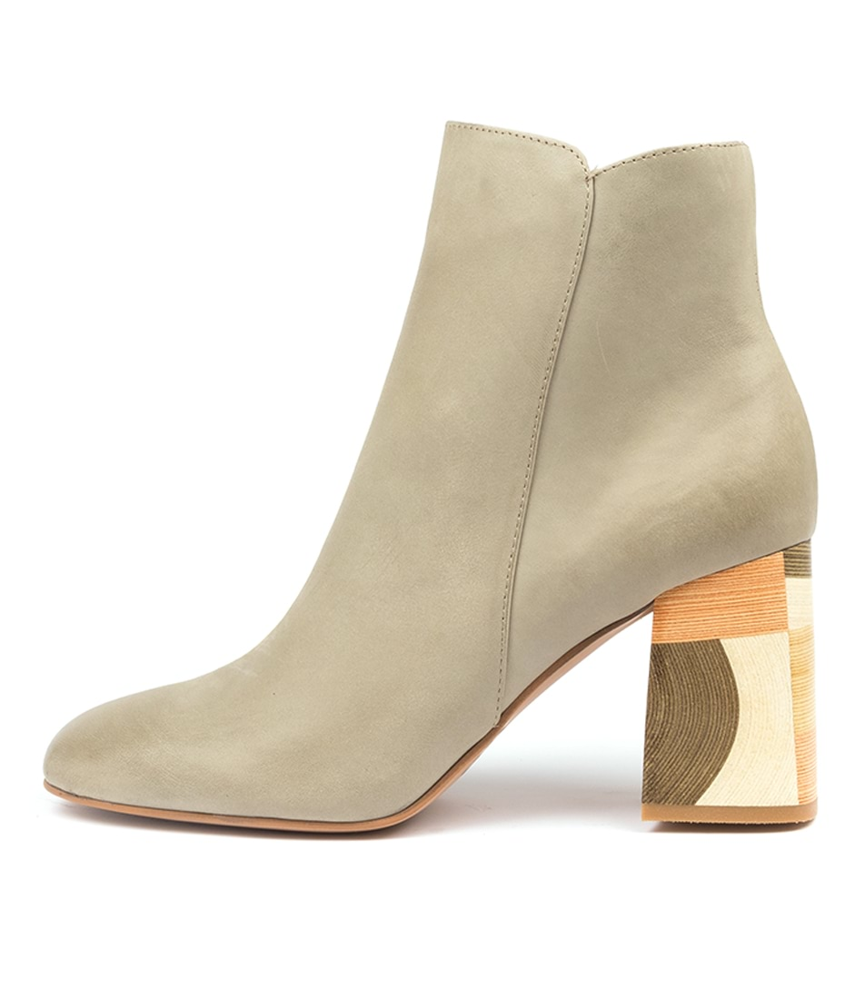 Buy Django & Juliette Yearn Dj Khaki Ankle Boots online with free shipping