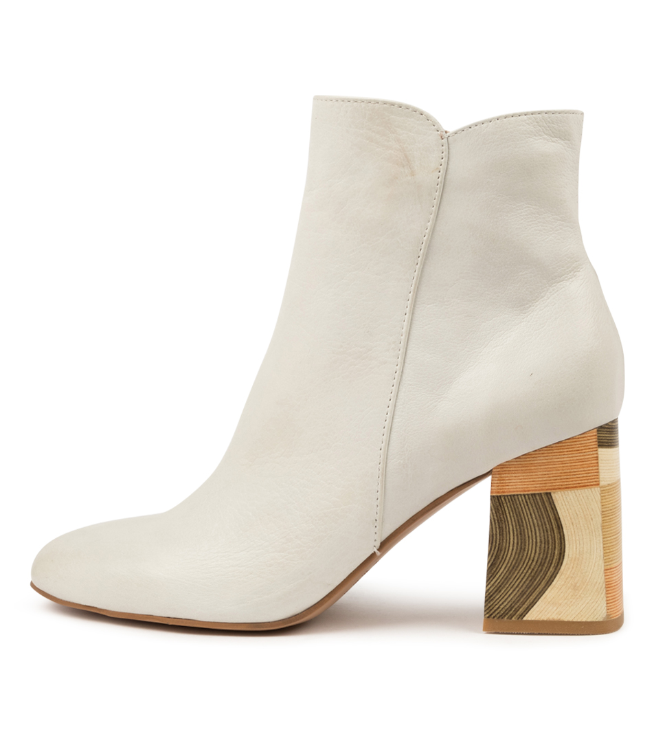 Buy Django & Juliette Yearn Dj New Winter White Ankle Boots online with free shipping