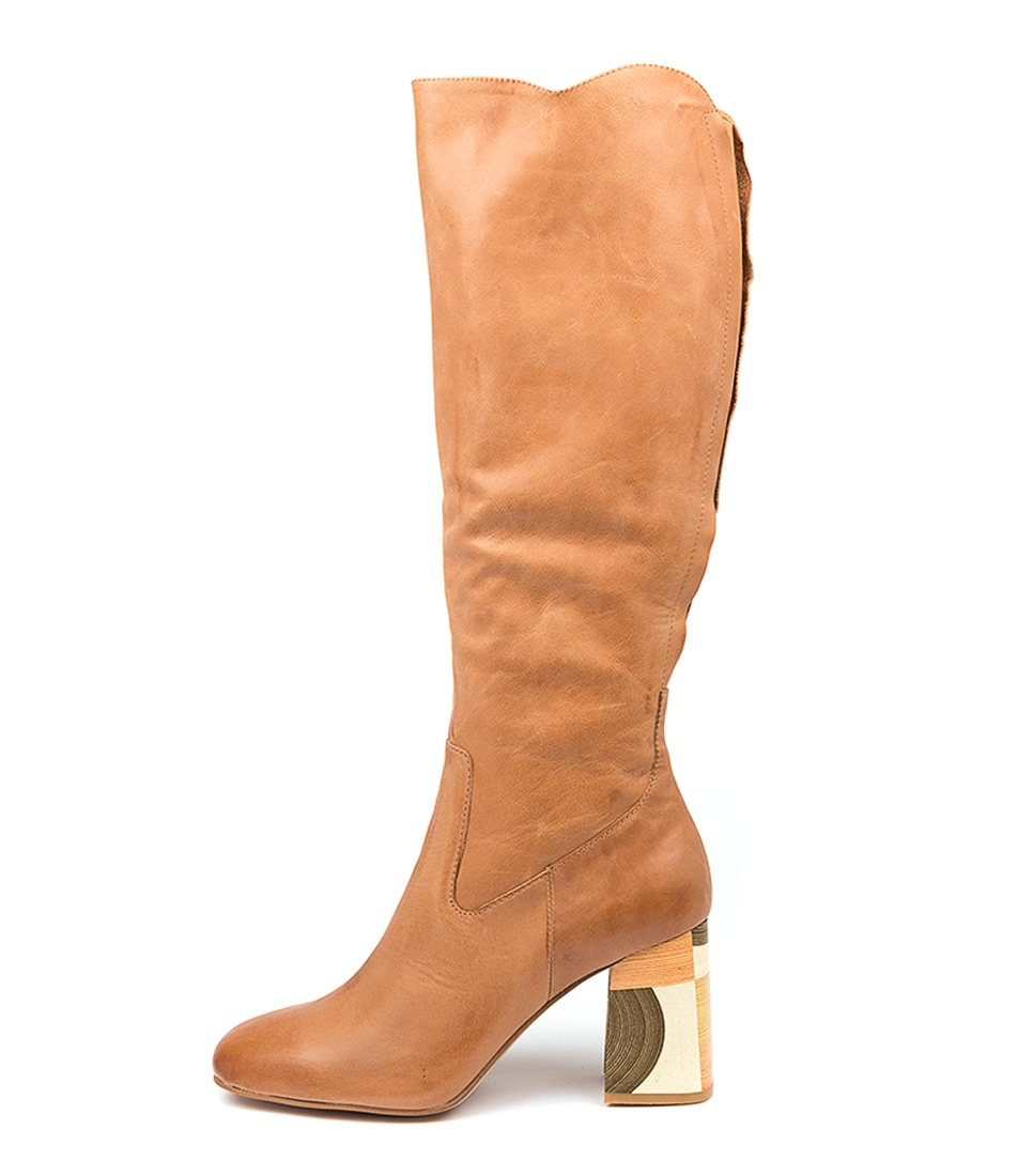 Buy Django & Juliette Young Dj Tan Long Boots online with free shipping
