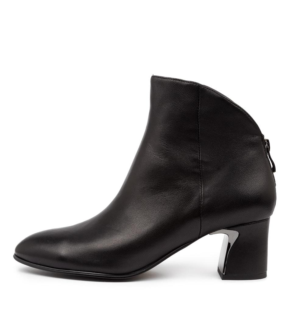 Buy Django & Juliette Jeopardy Dj Black Dress Ankle Boots online with free shipping