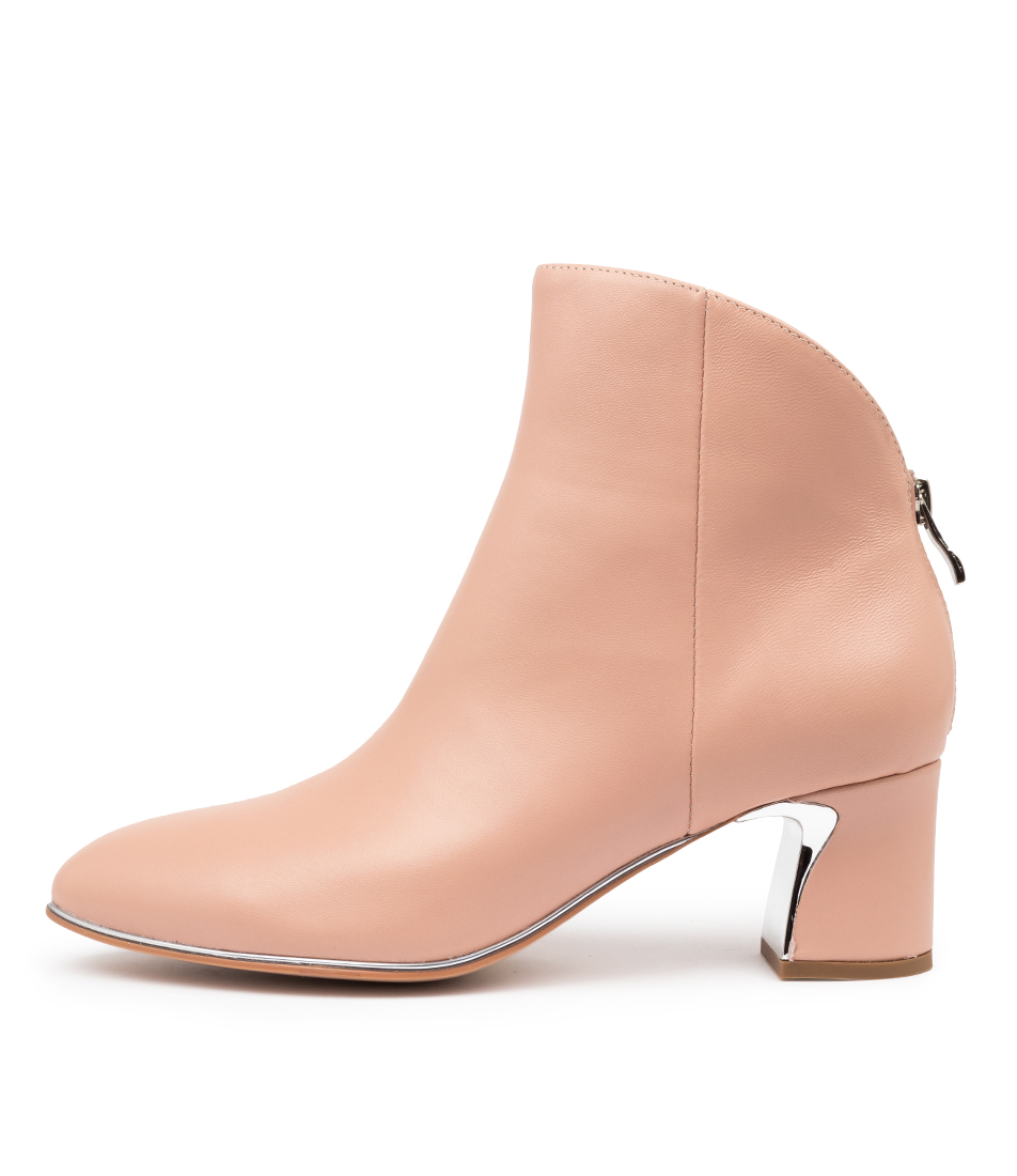 Buy Django & Juliette Jeopardy Dj Blush Dress Ankle Boots online with free shipping