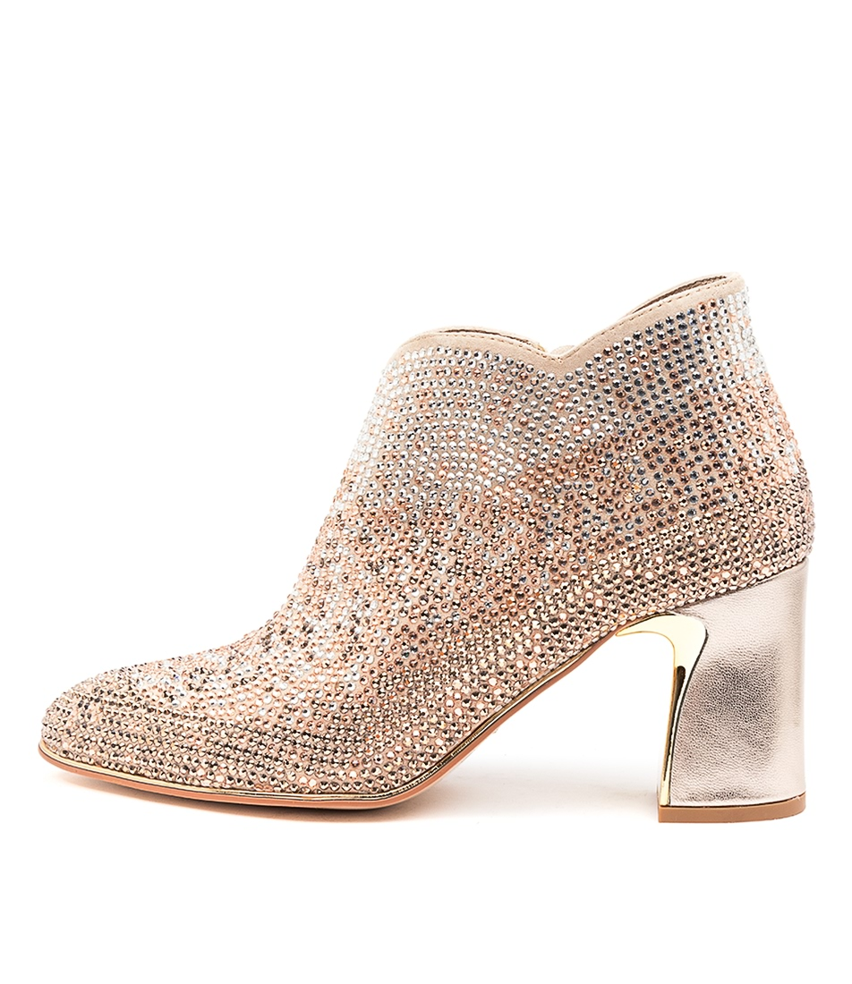 Buy Django & Juliette Klose Dj Champagne Ankle Boots online with free shipping