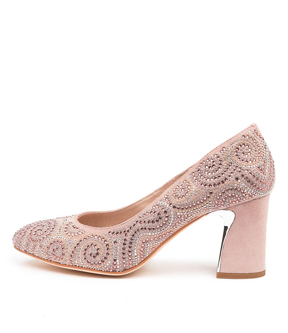 Buy Django & Juliette Koko Dj Dusty Pink High Heels online with free shipping