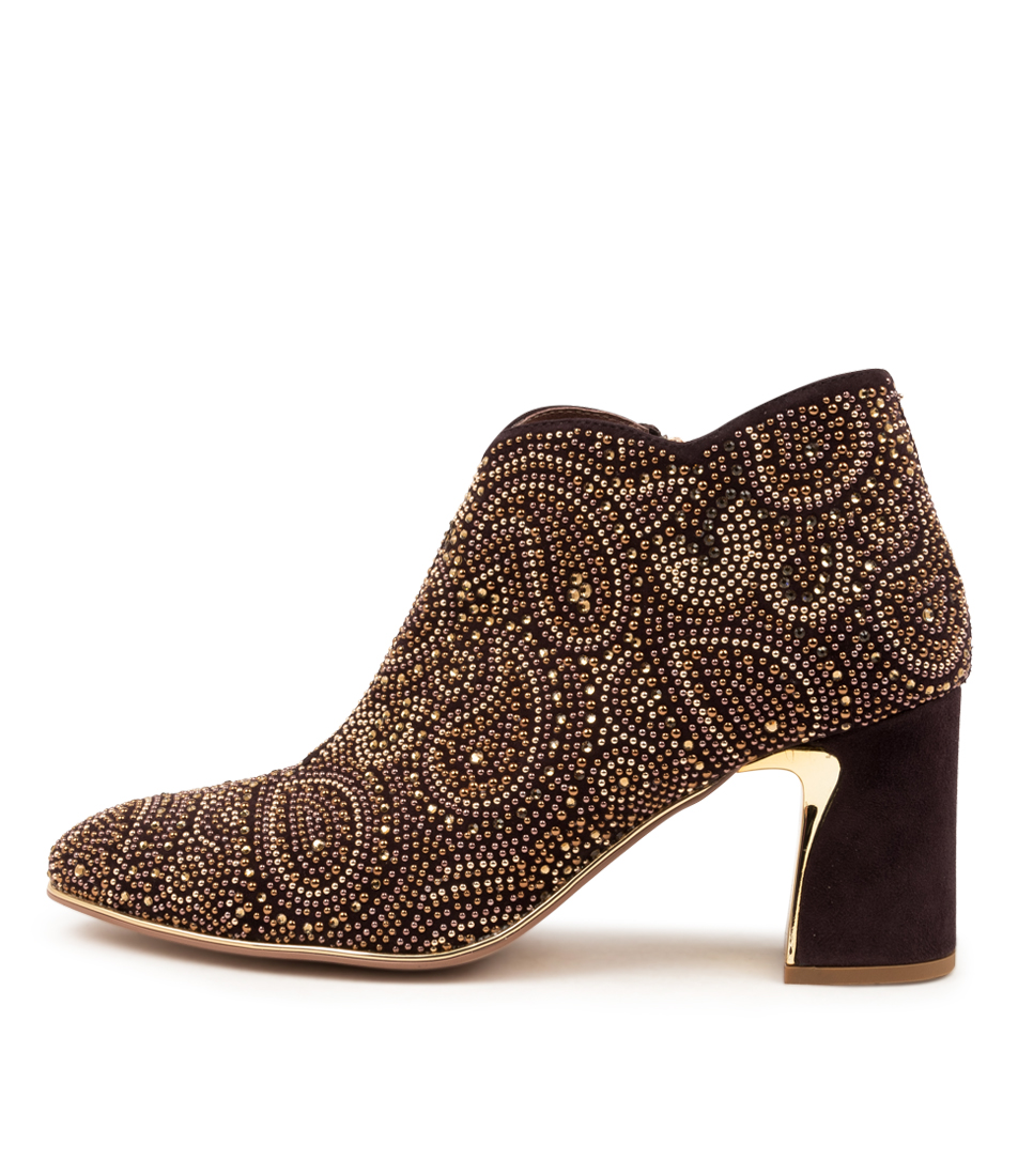 Buy Django & Juliette Kathy Dj Choc Ankle Boots online with free shipping