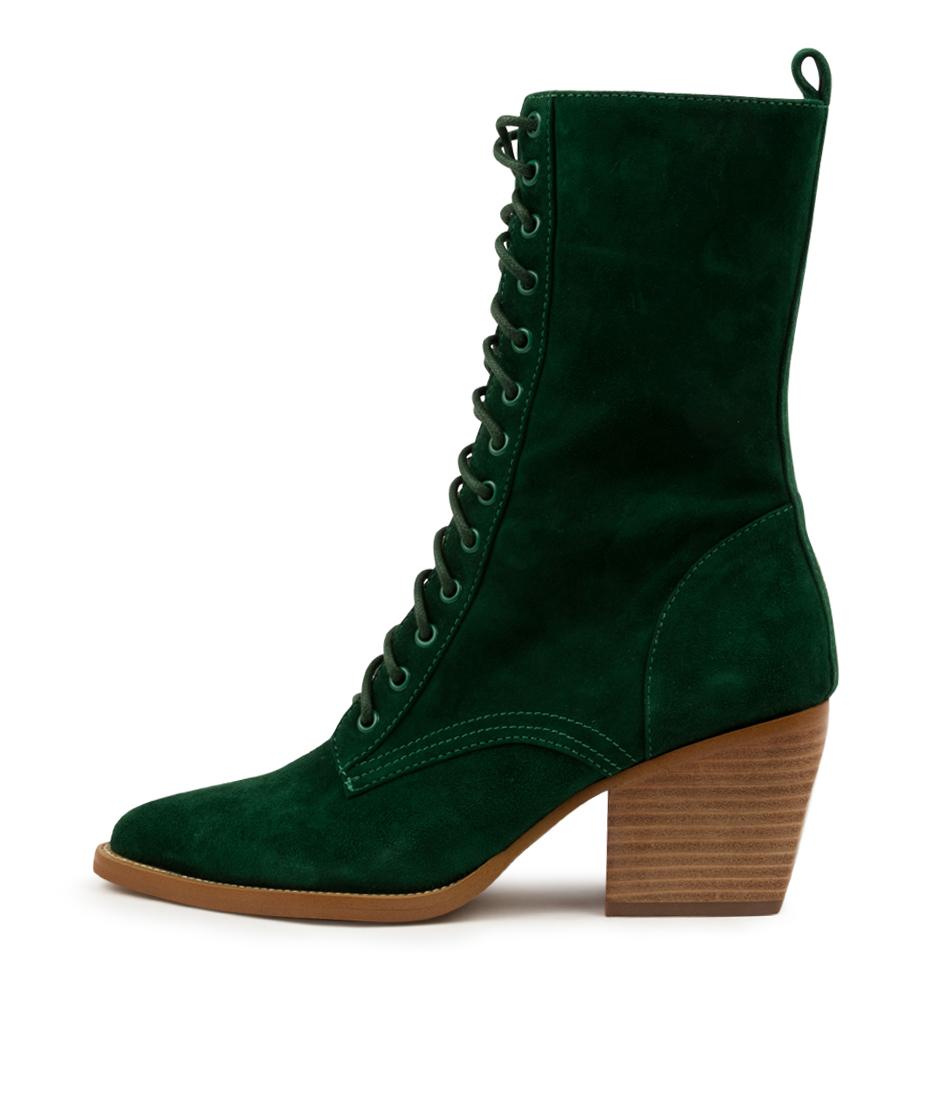 Buy Django & Juliette Major Dj Emerald Calf Boots online with free shipping