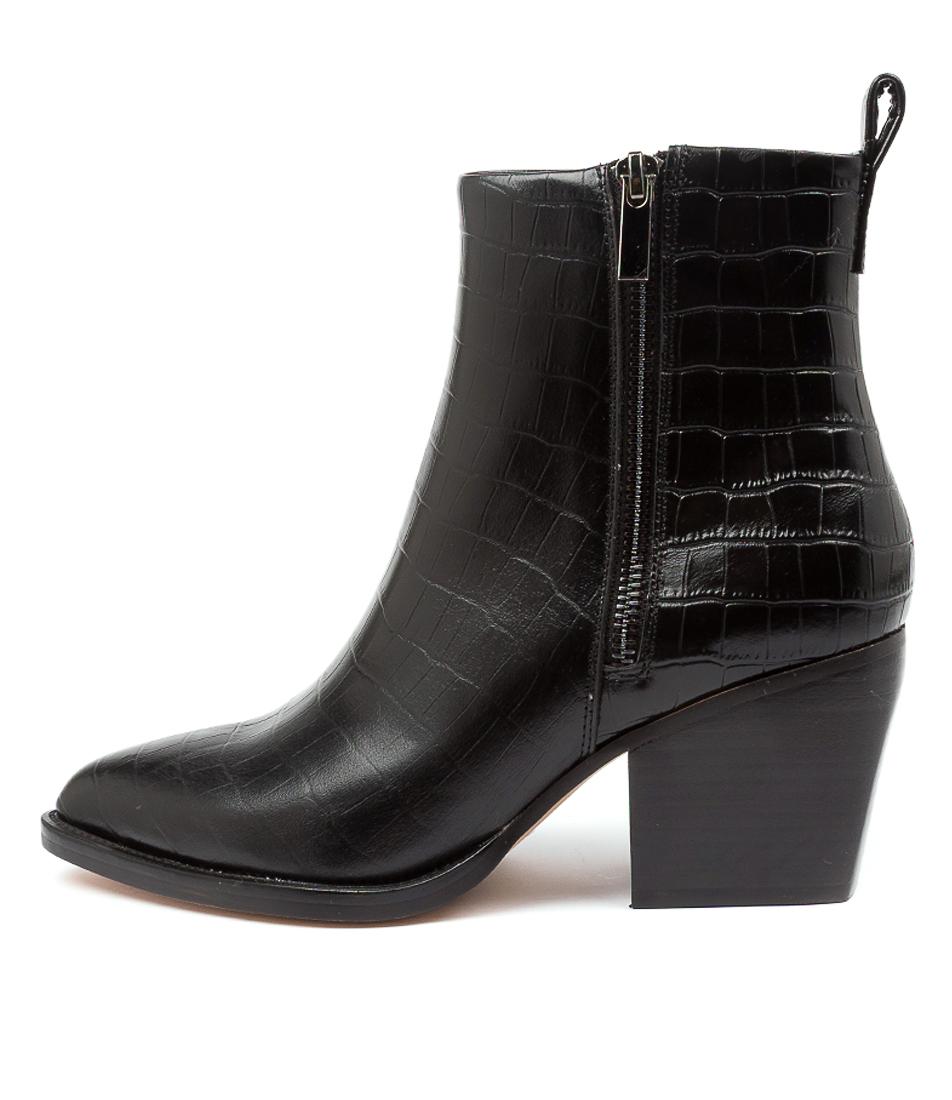 Buy Django & Juliette Milky Dj Black Ankle Boots online with free shipping