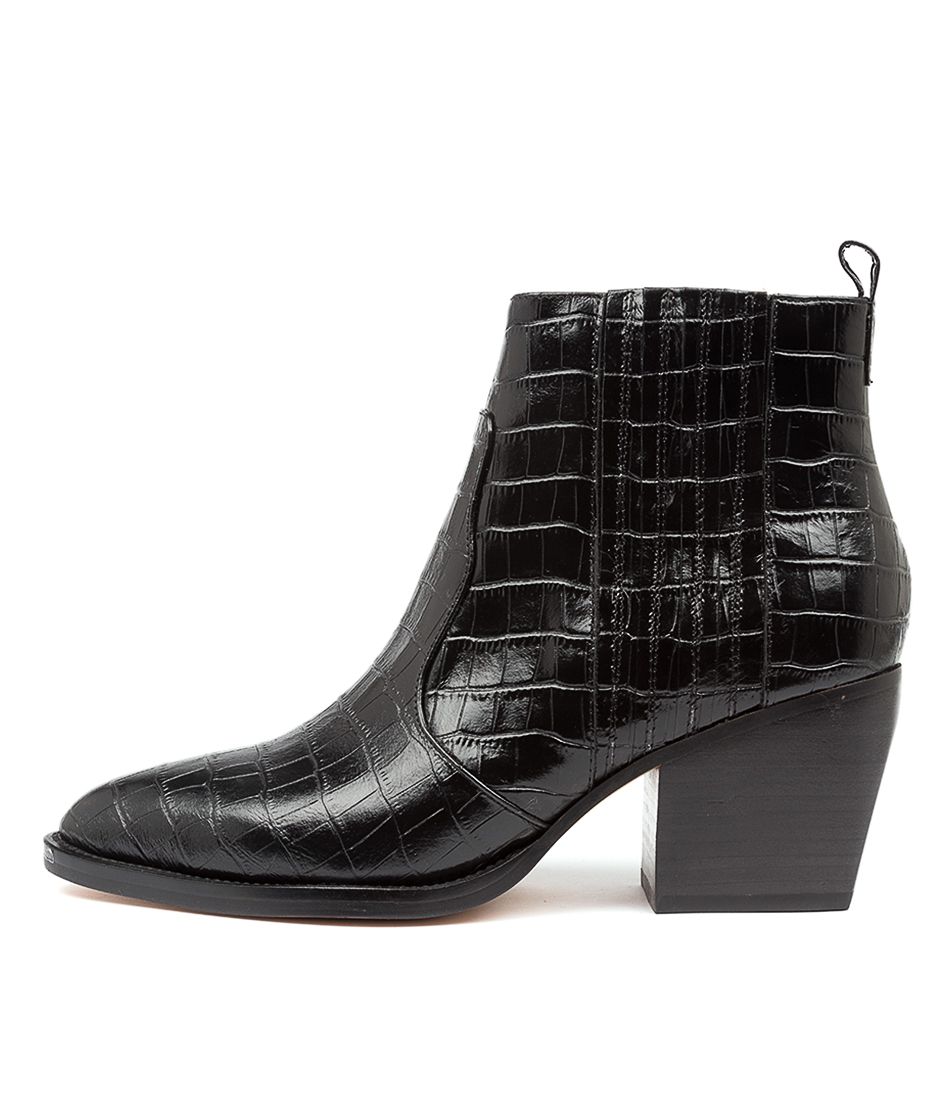 Buy Django & Juliette Majesty Dj Black Ankle Boots online with free shipping