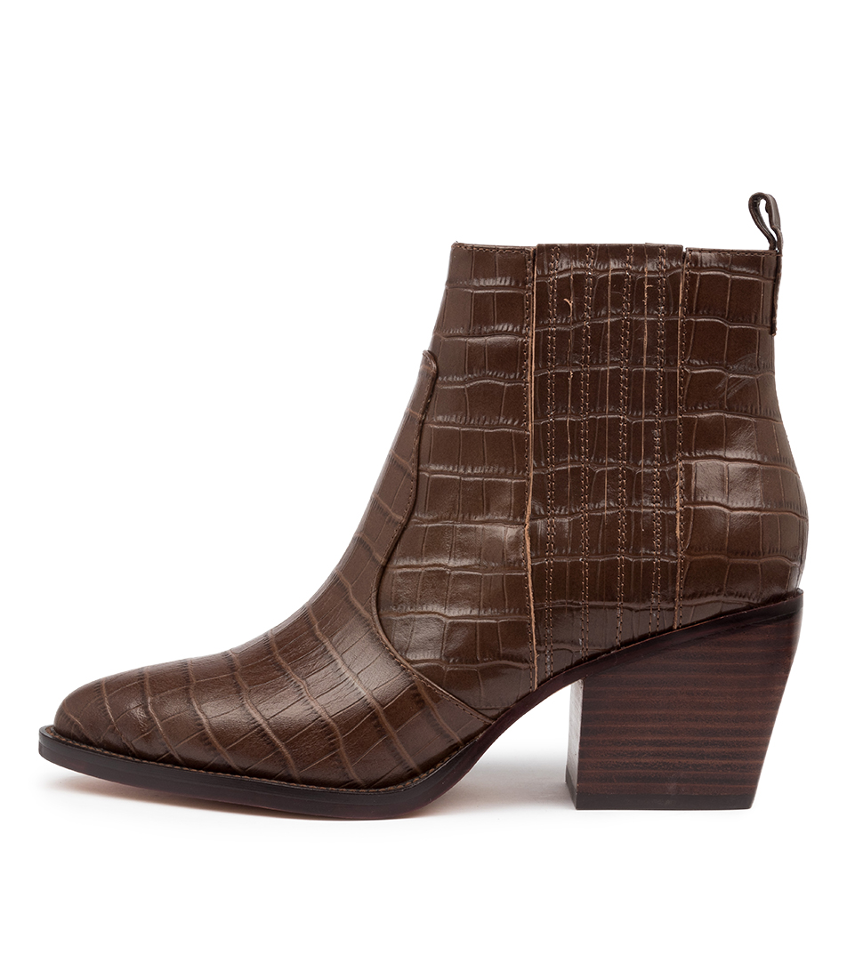 Buy Django & Juliette Majesty Dj Choc Ankle Boots online with free shipping
