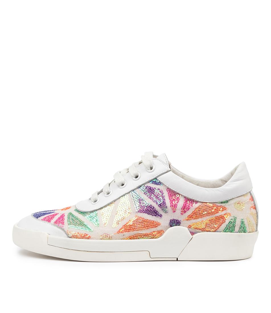 Buy Django & Juliette Momo Dj White Sneakers online with free shipping