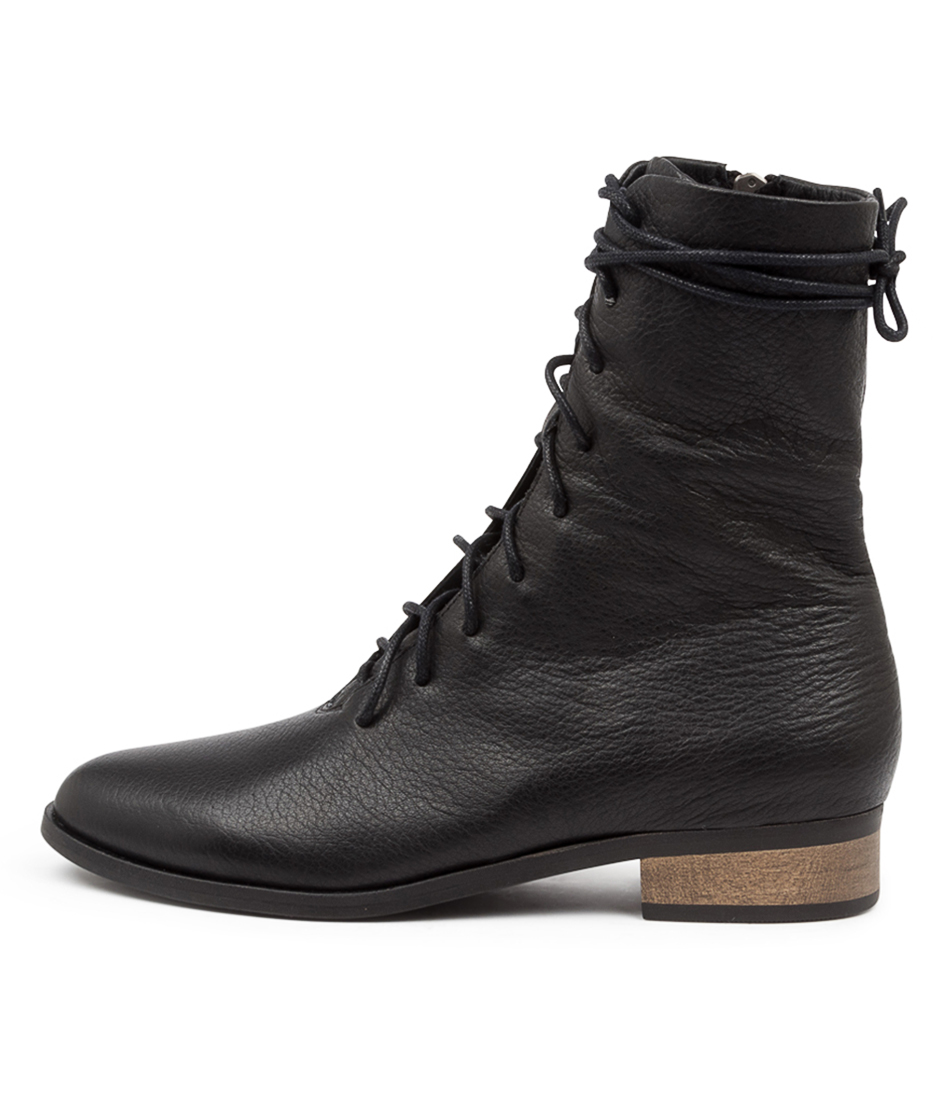 Buy Django & Juliette Imbalms Djl Black Ankle Boots online with free shipping