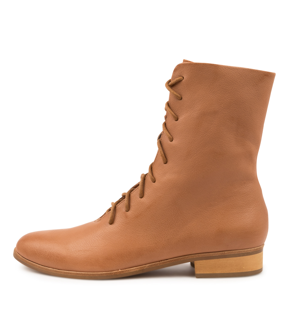 Buy Django & Juliette Imbalms Djl Dk Tan Ankle Boots online with free shipping