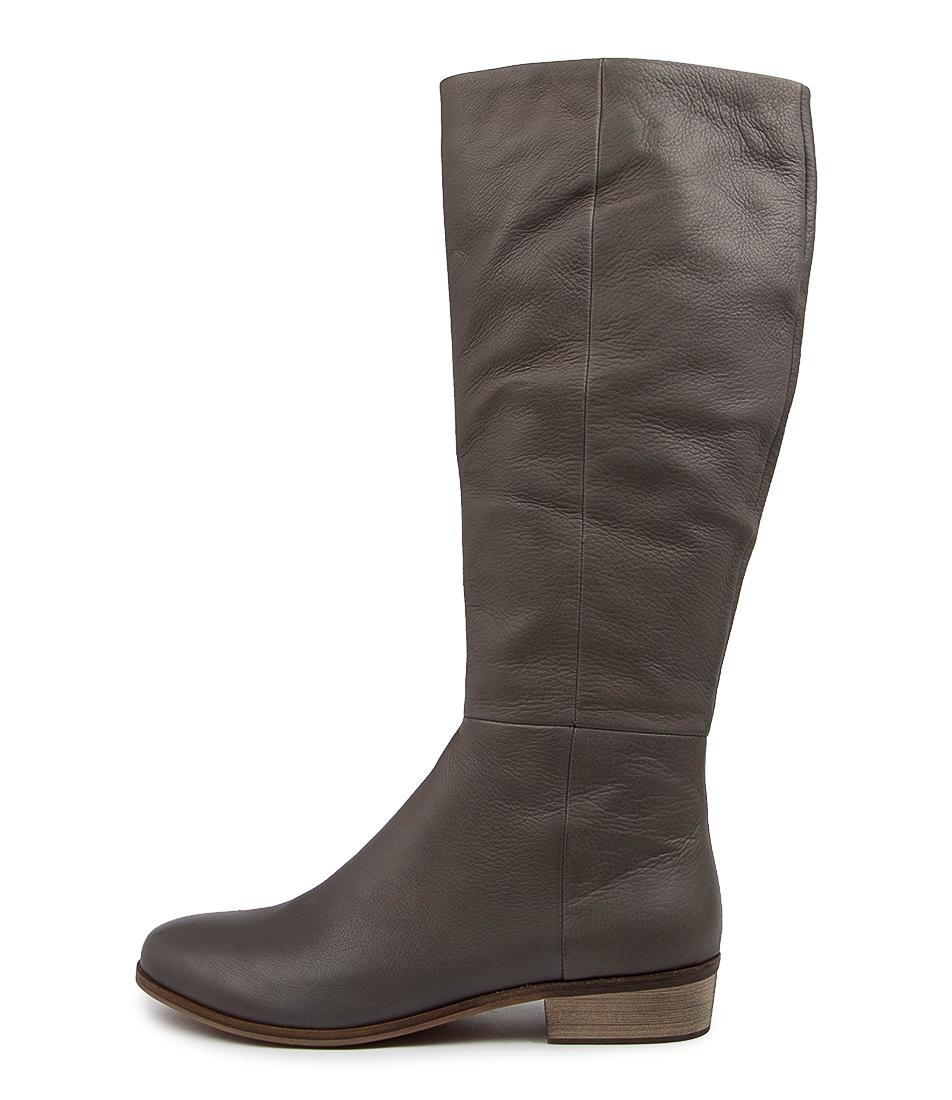 Buy Django & Juliette Strath Lrg Dk Grey Long Boots online with free shipping