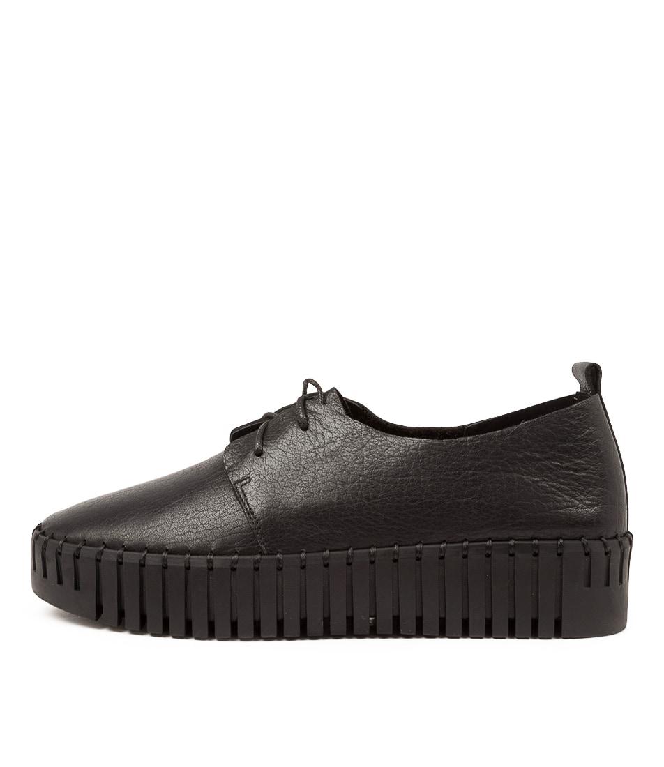 Buy Django & Juliette Brenda Dj Black Black Sole Sneakers online with free shipping